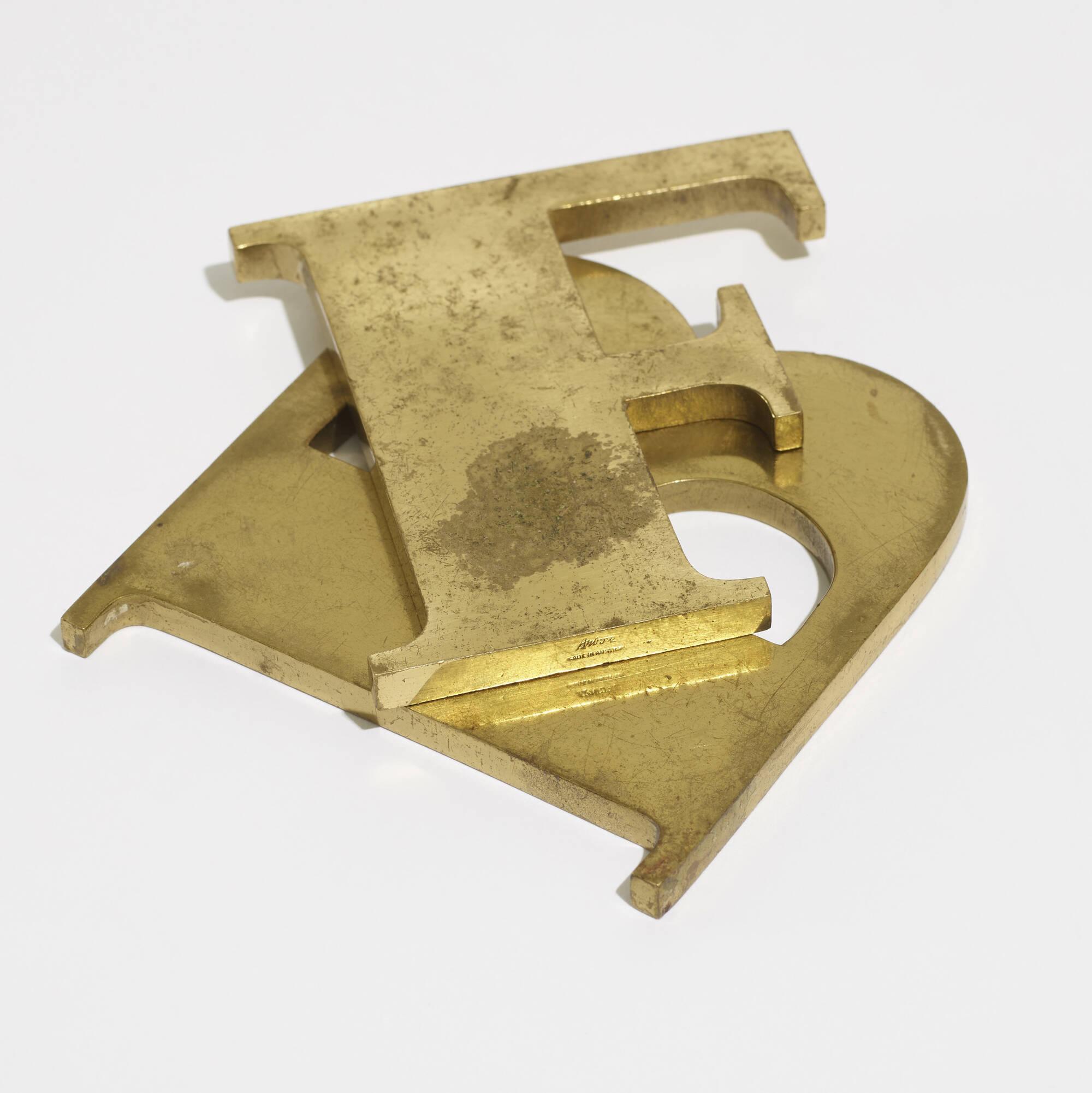 212: Carl Auböck II / paperweights, pair (2 of 2)