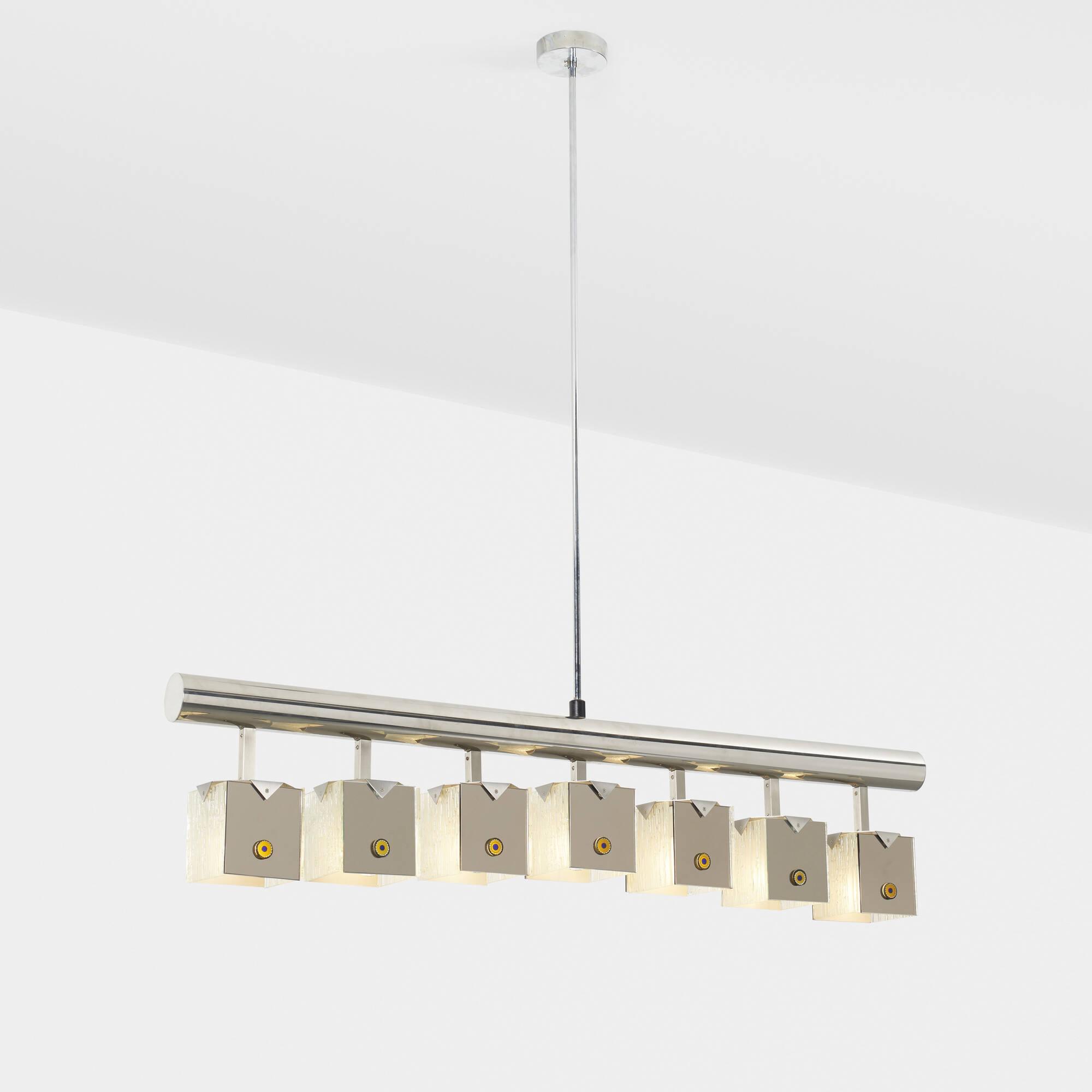 213: Angelo Lelii / Murrine ceiling lamp (1 of 1)