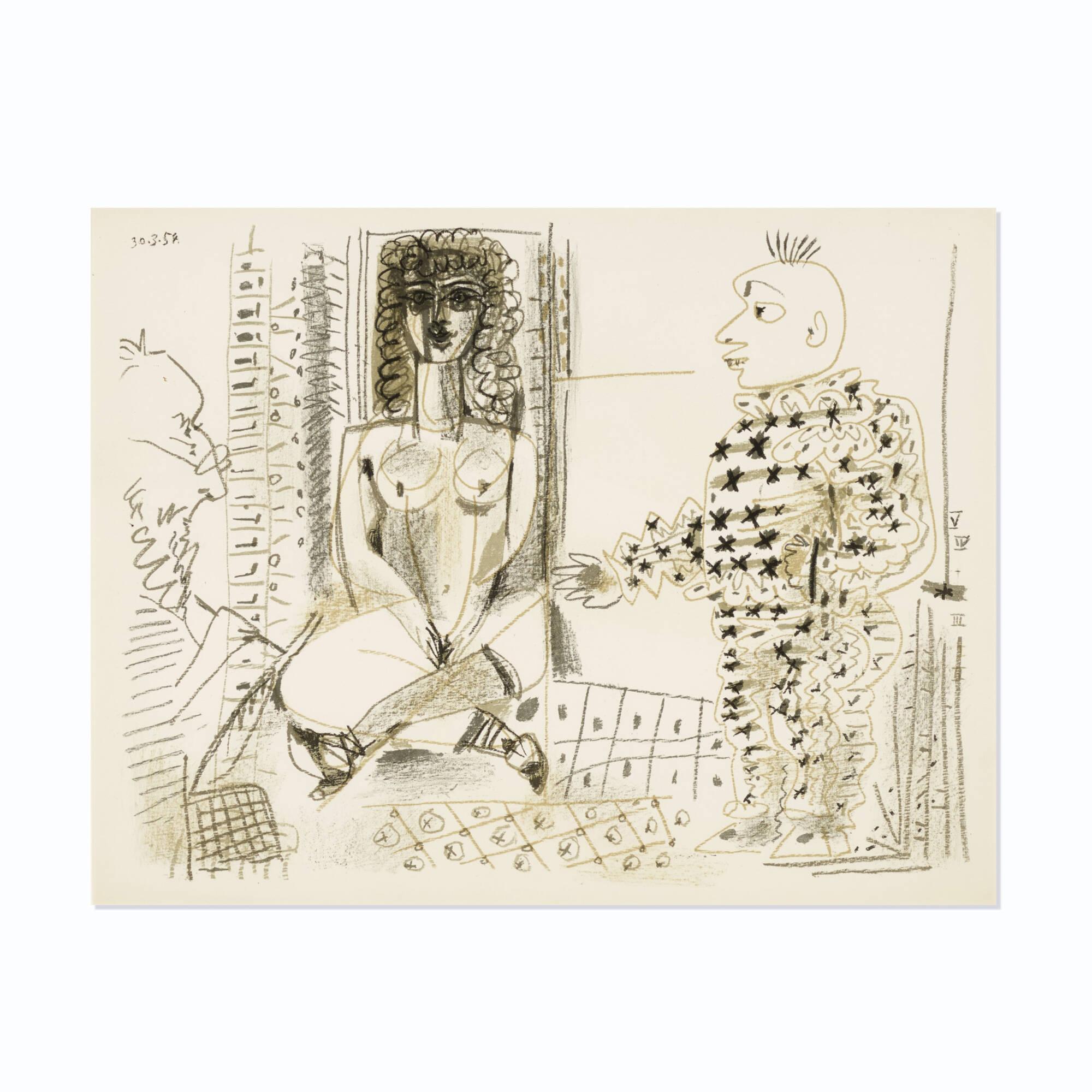 213: Pablo Picasso / Le Peintre et Son Modèle (1 of 1)