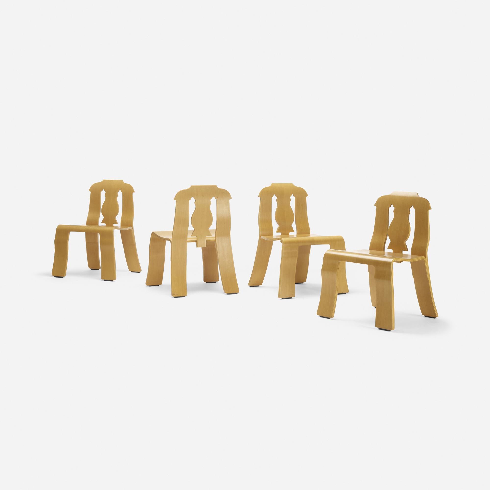 213: Robert Venturi with Denise Scott Brown / Empire chairs, set of four (2 of 3)