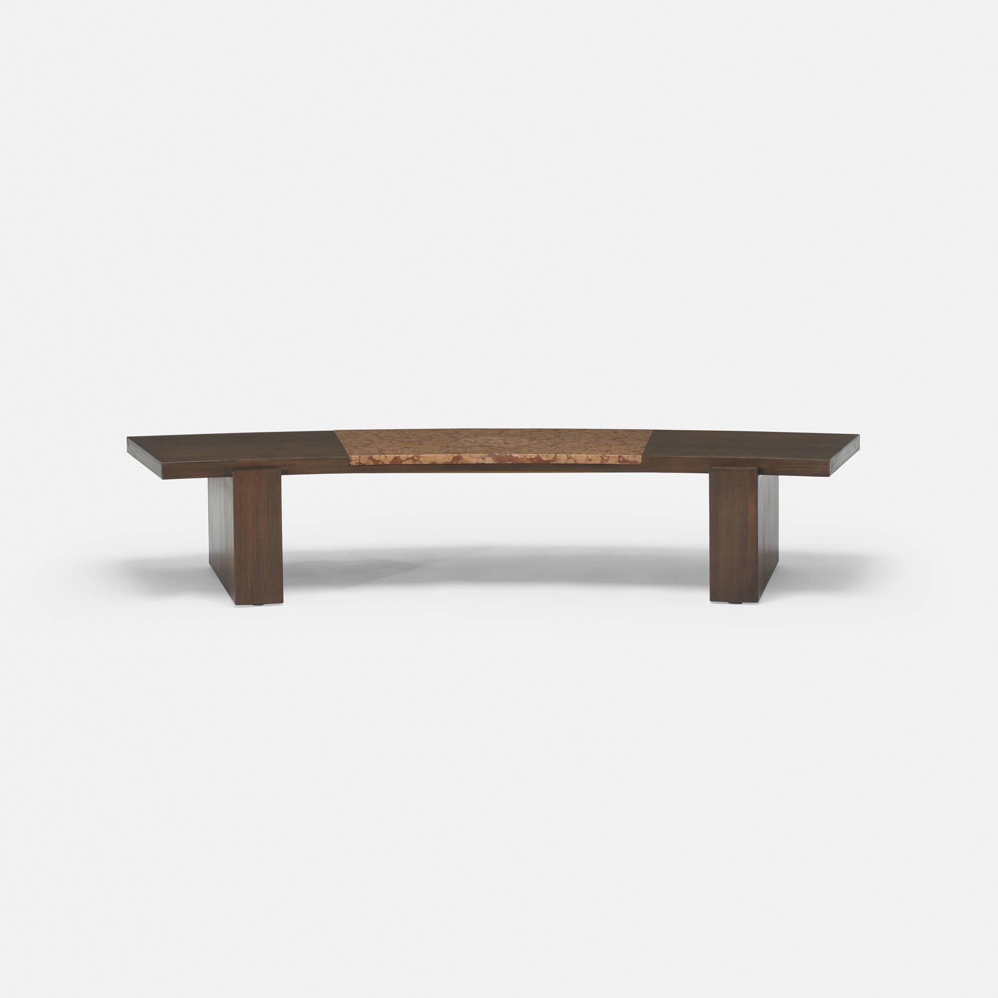 ... 213: Vladimir Kagan / Coffee Table From A Manhattan Interior (2 Of 4)