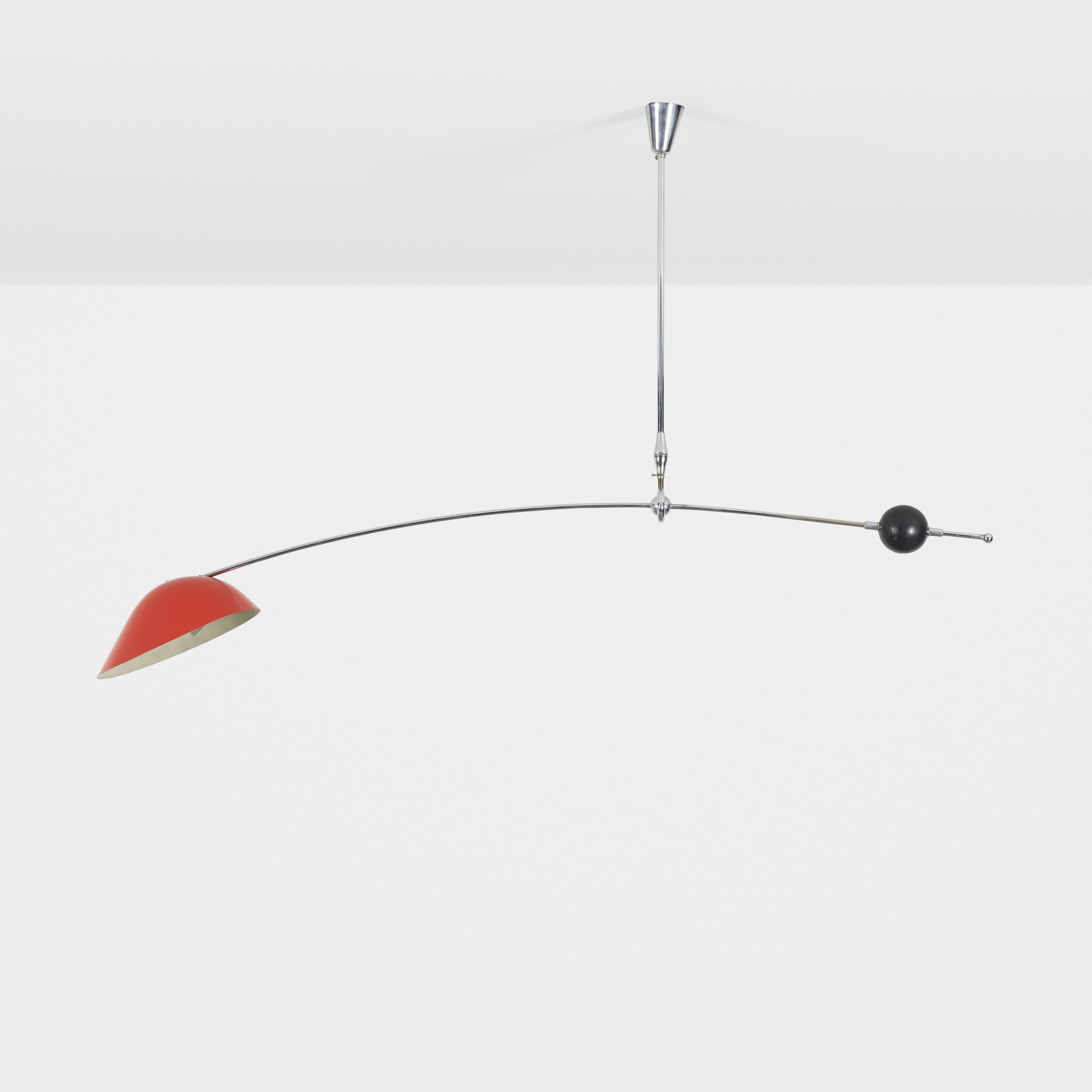 215: Angelo Lelii / counterbalance ceiling lamp (1 of 2)