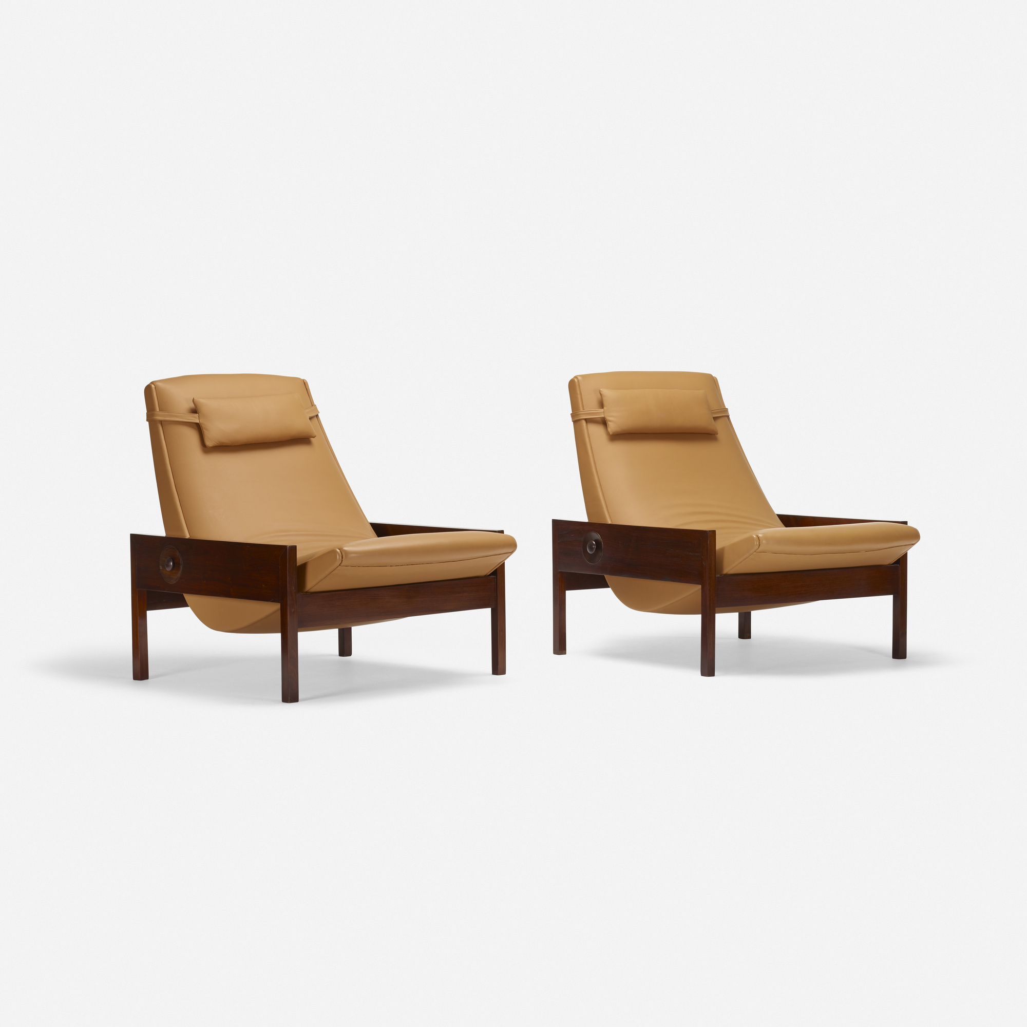 215: Brazilian / lounge chairs, pair (1 of 3)