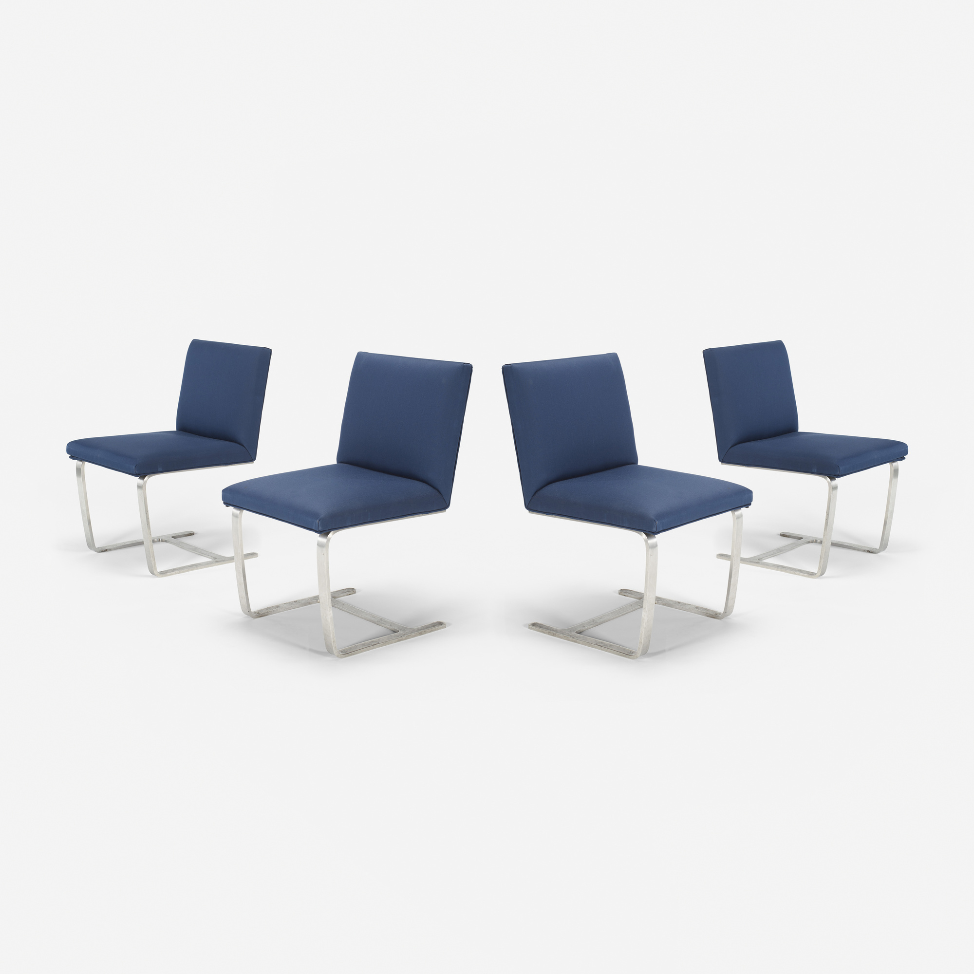 215: Ludwig Mies van der Rohe / Custom Brno side chairs from The Four Seasons, set of four (1 of 1)
