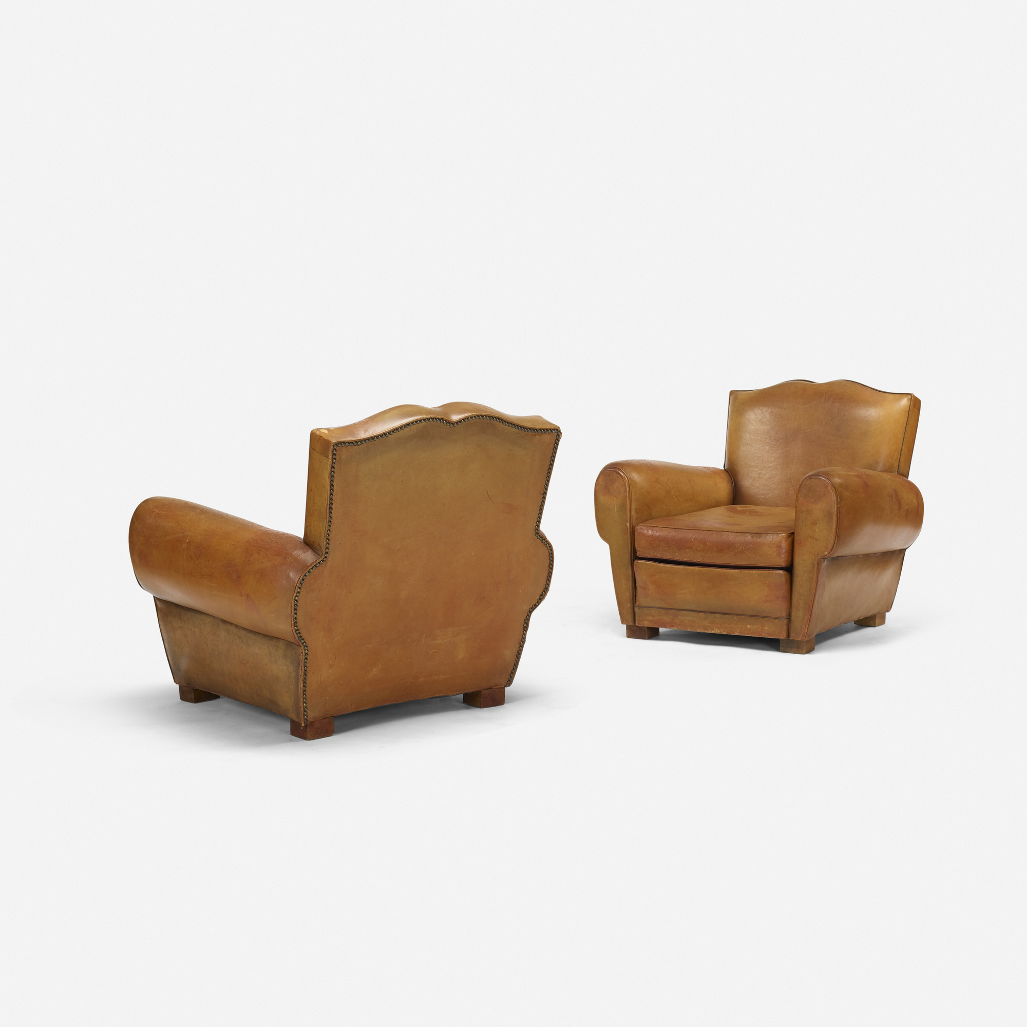 ... 215: French / Club Chairs, Pair (2 Of 4)
