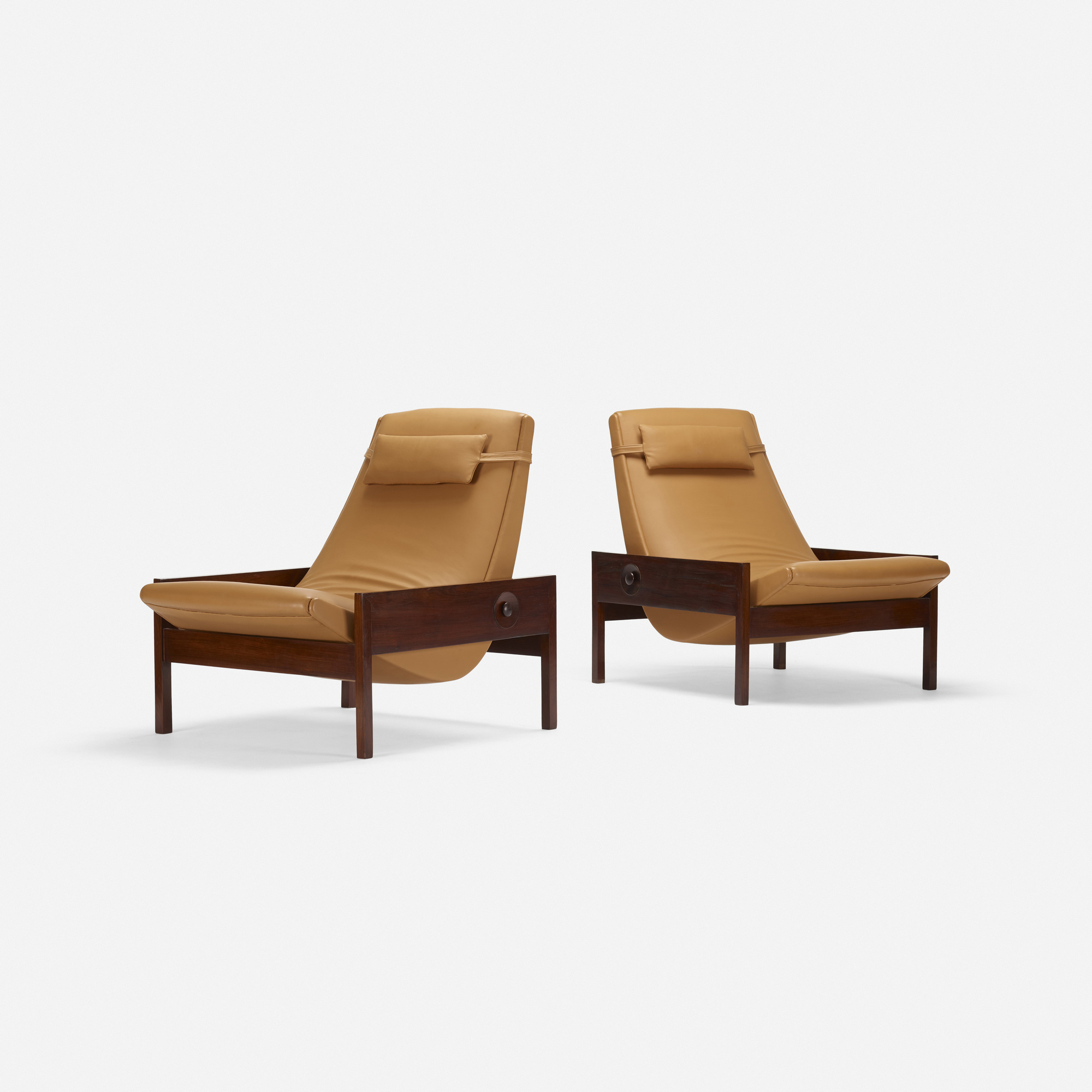215: Brazilian / lounge chairs, pair (2 of 3)
