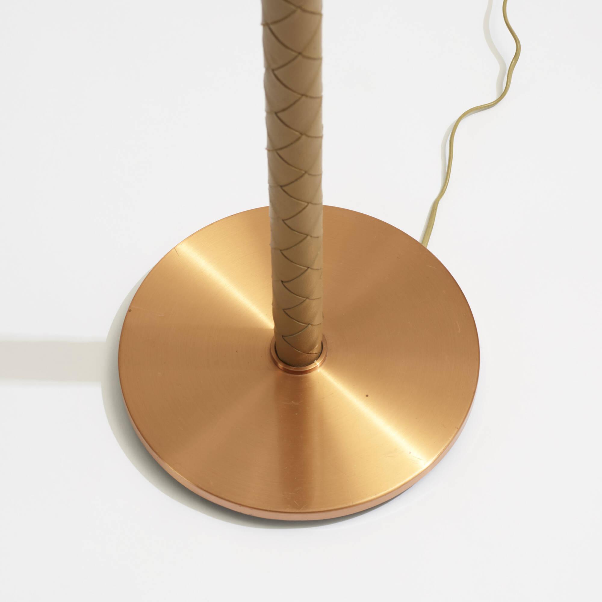 215: Scandinavian / floor lamps, pair (2 of 2)