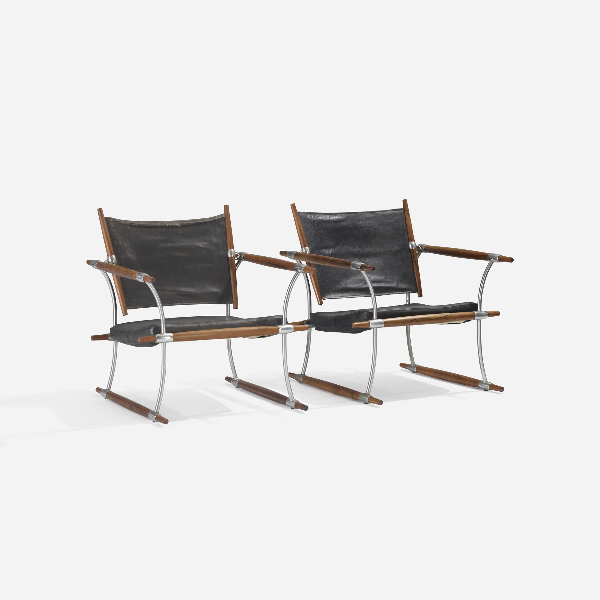 216: Jens Quistgaard / Stocke lounge chairs, pair (1 of 3)
