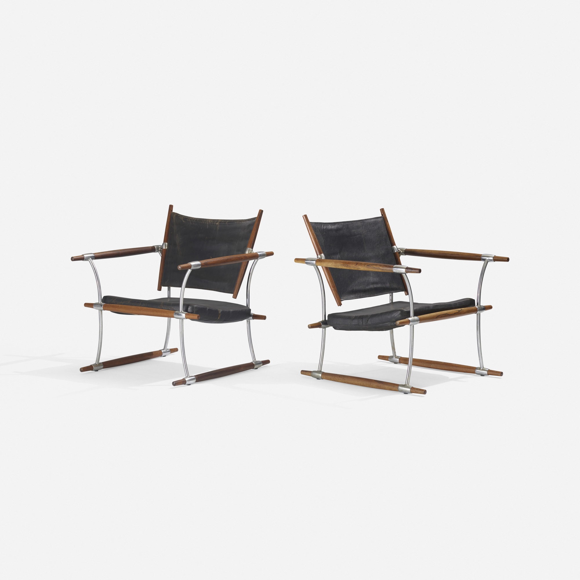 216: Jens Quistgaard / Stocke lounge chairs, pair (2 of 3)