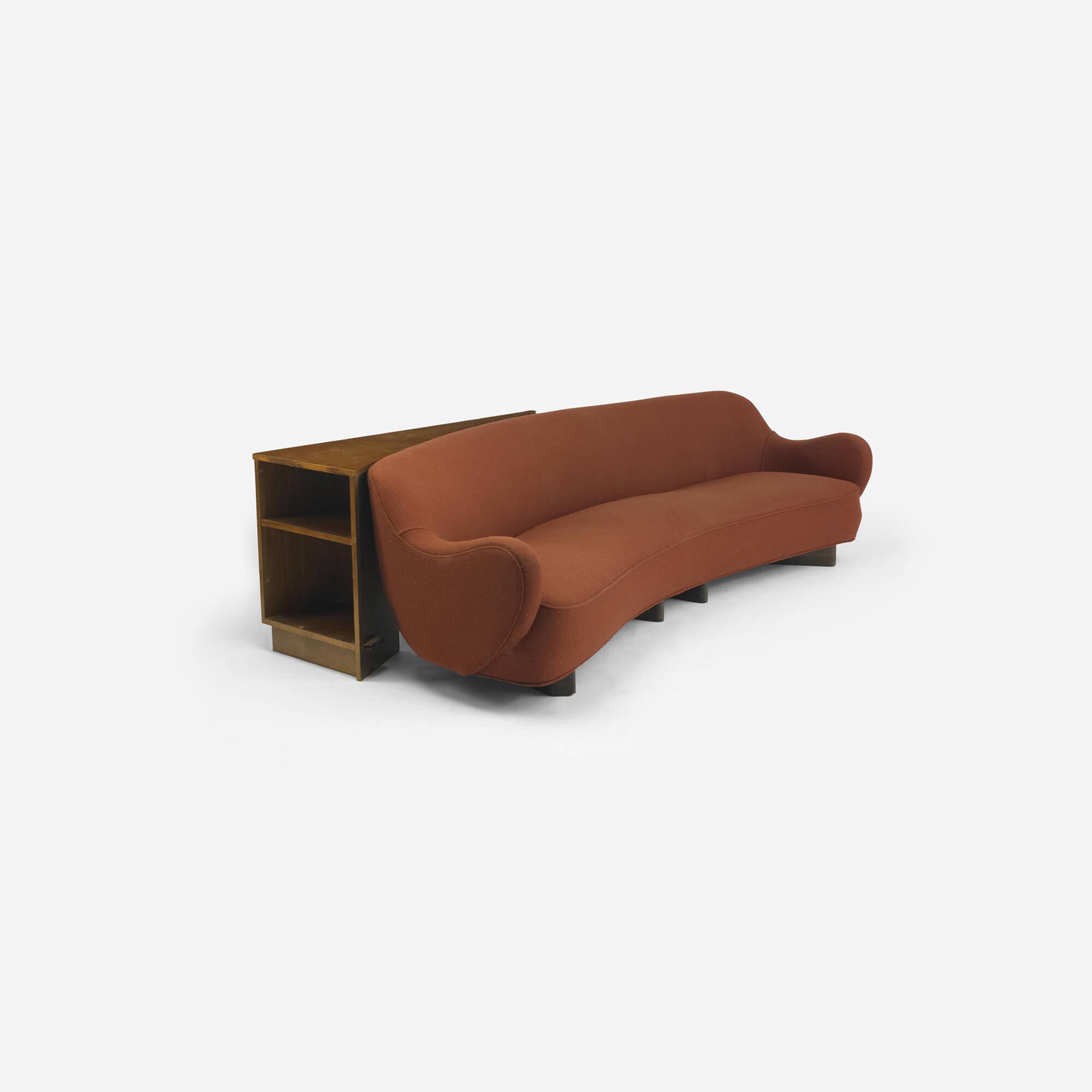 Modern Home Design October 2012: 216: VLADIMIR KAGAN, Sculptural Form Sofa From A Manhattan