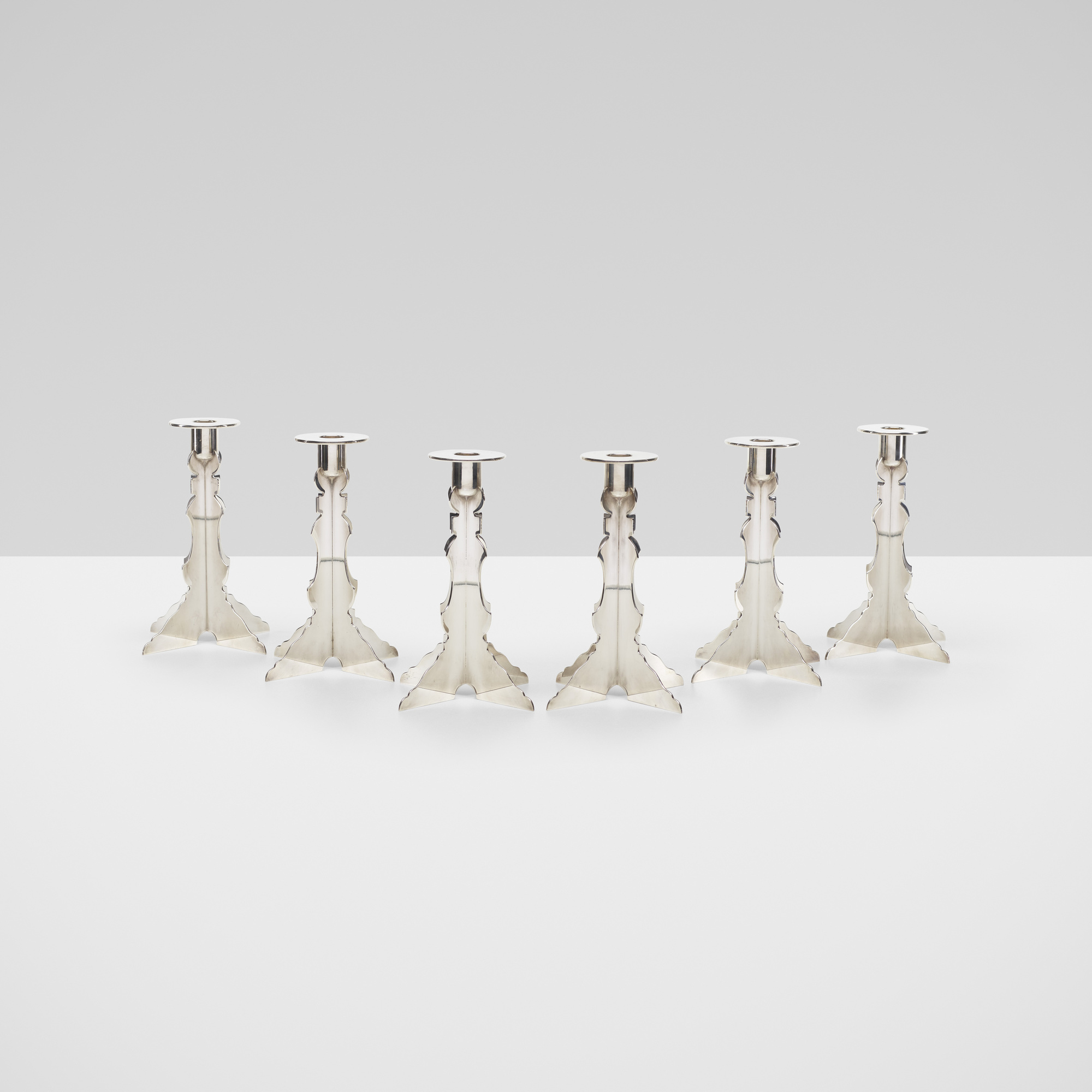217: Robert Venturi with Denise Scott Brown / candlesticks, set of six (1 of 3)