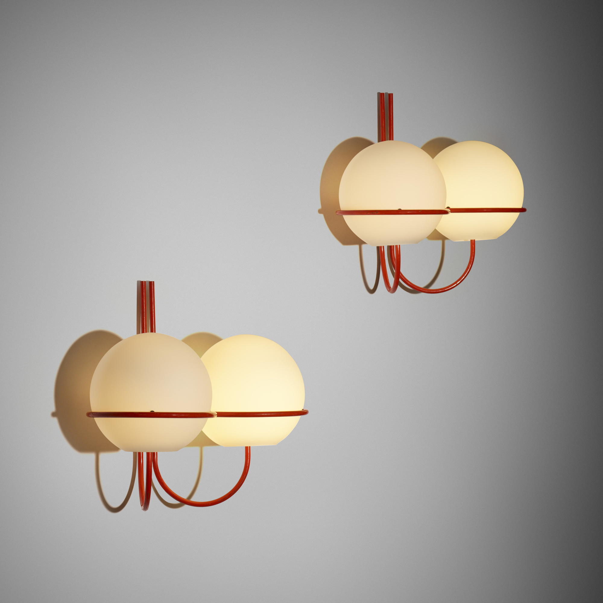 217: Ico and Luisa Parisi / wall lamps, pair (1 of 2)