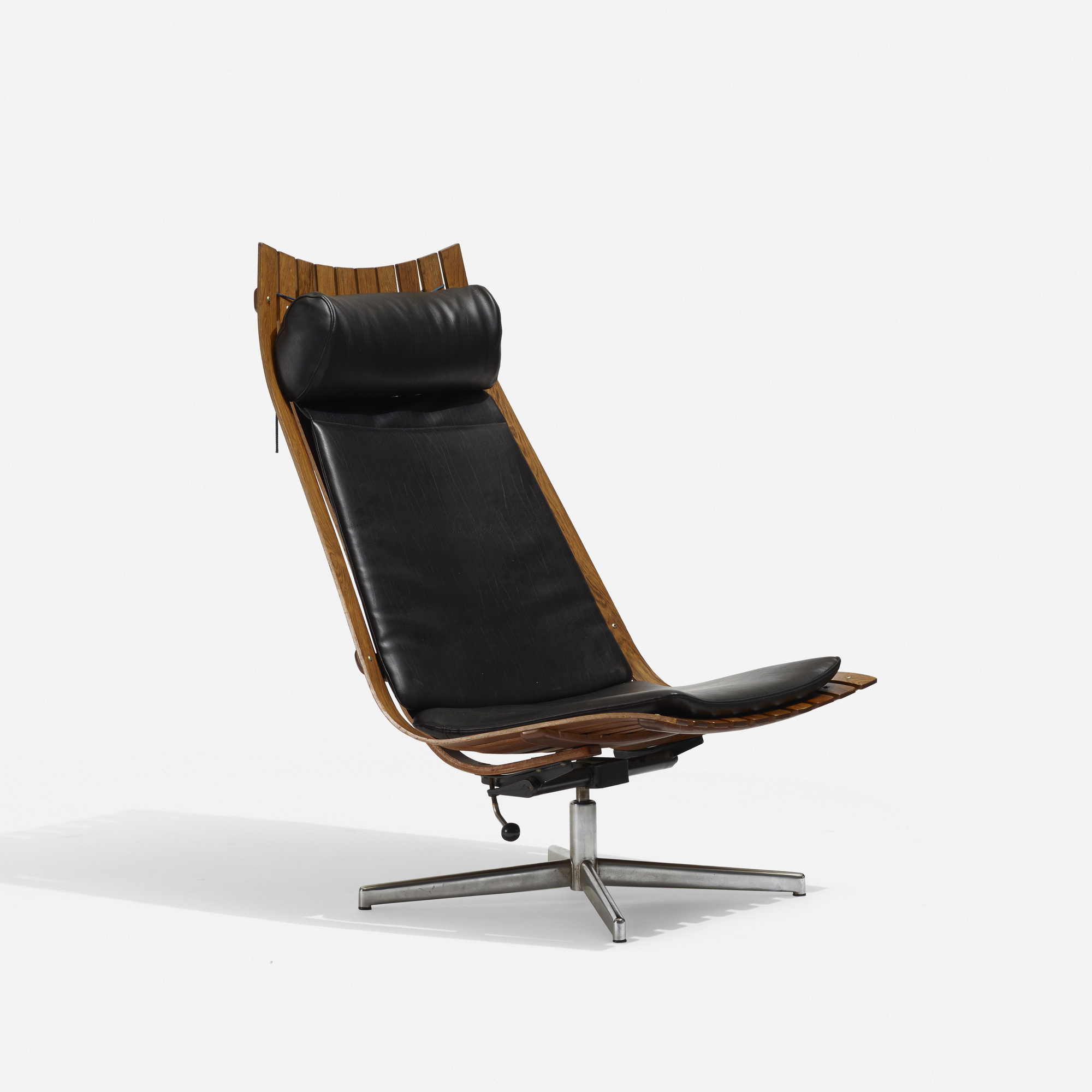 Fabulous 217 Hans Brattrud Scandia Nett Swivel Lounge Chair Ibusinesslaw Wood Chair Design Ideas Ibusinesslaworg