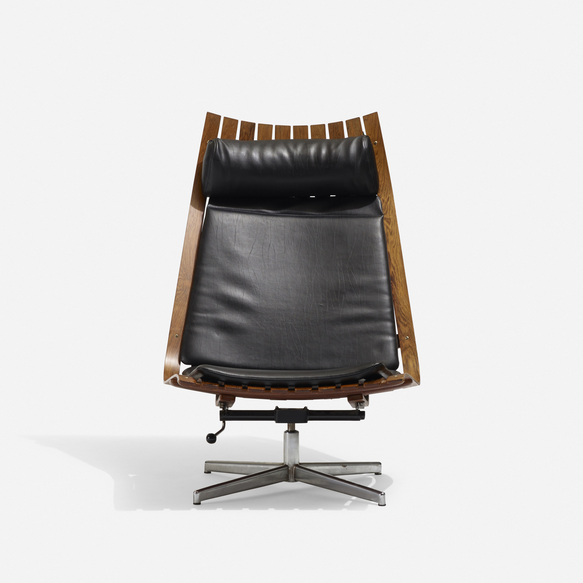 Astonishing 217 Hans Brattrud Scandia Nett Swivel Lounge Chair Ibusinesslaw Wood Chair Design Ideas Ibusinesslaworg