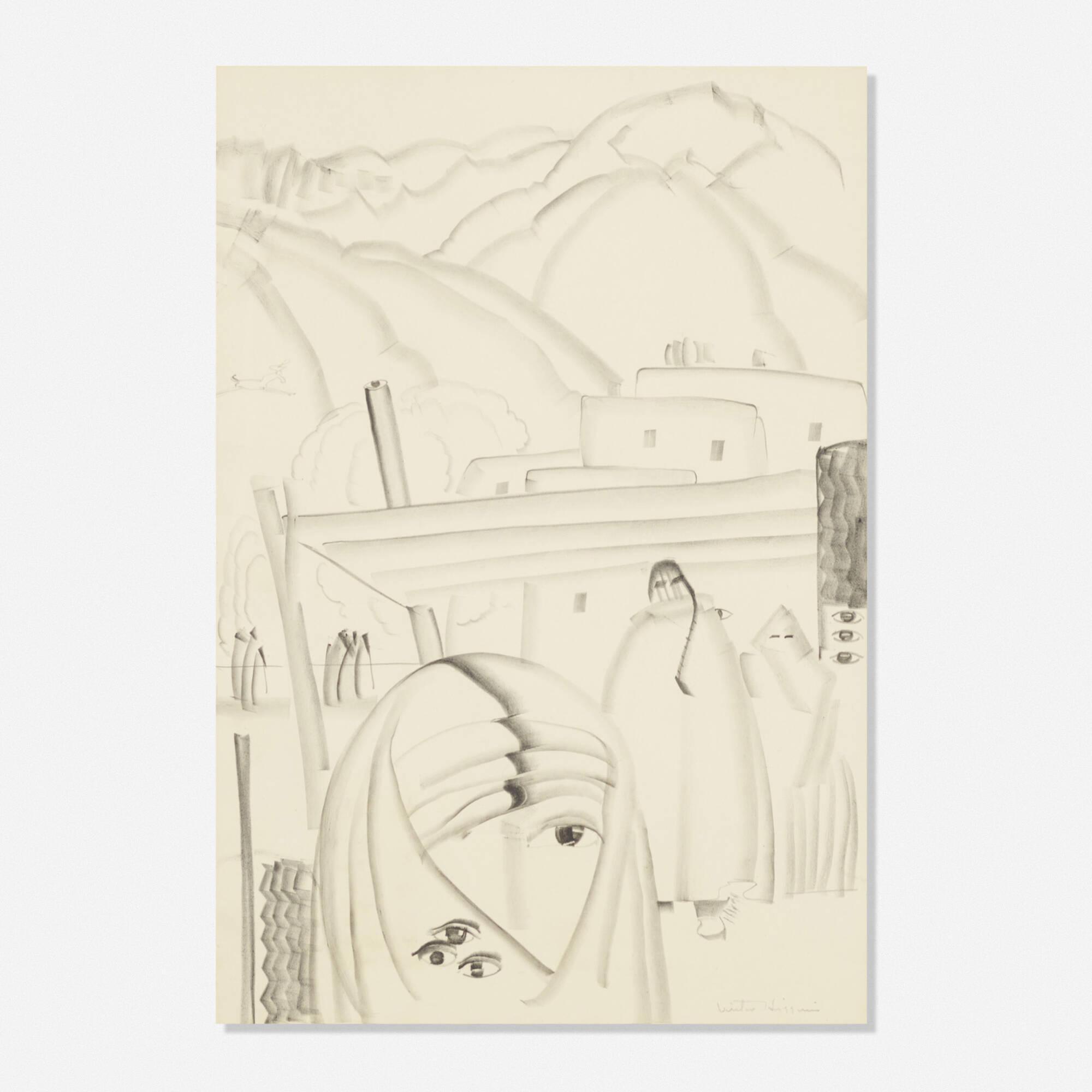 218: Victor Higgins / Untitled (1 of 1)