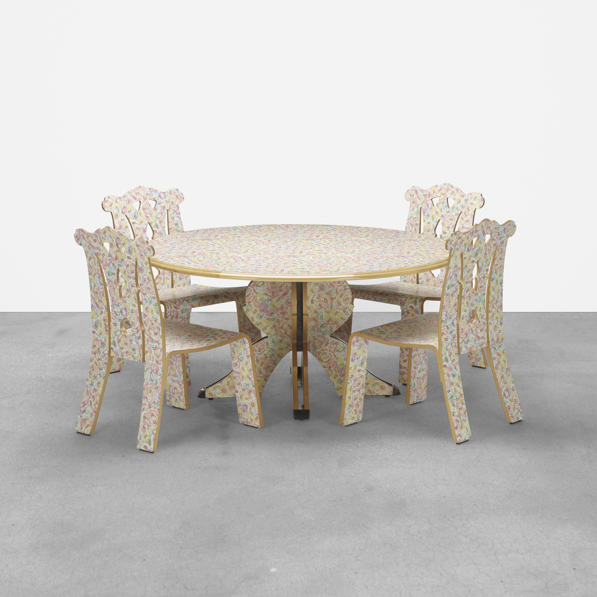 218: Robert Venturi with Denise Scott Brown / dining set (1 of 3)
