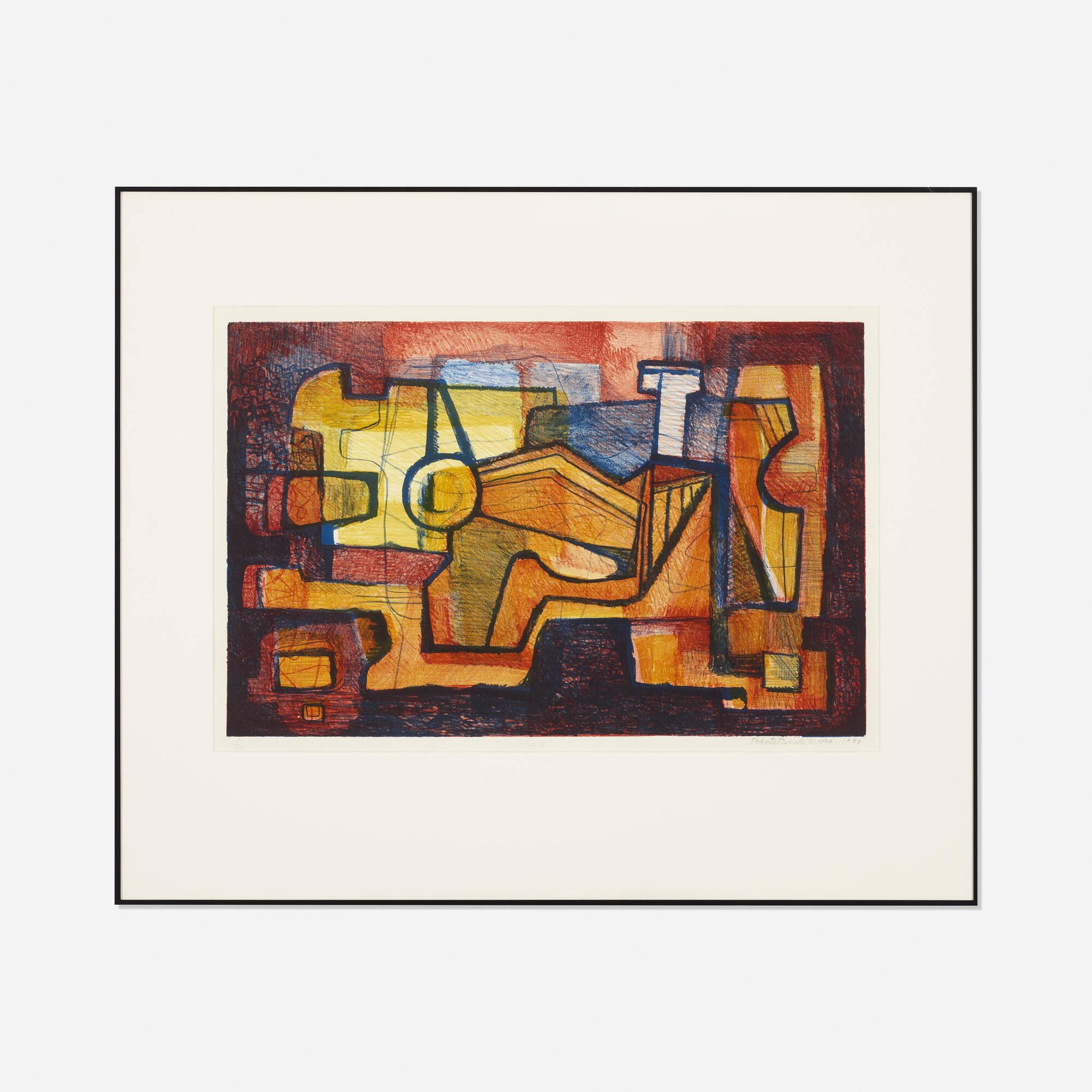 218: Roberto Burle Marx / Mistelia I (1 of 1)