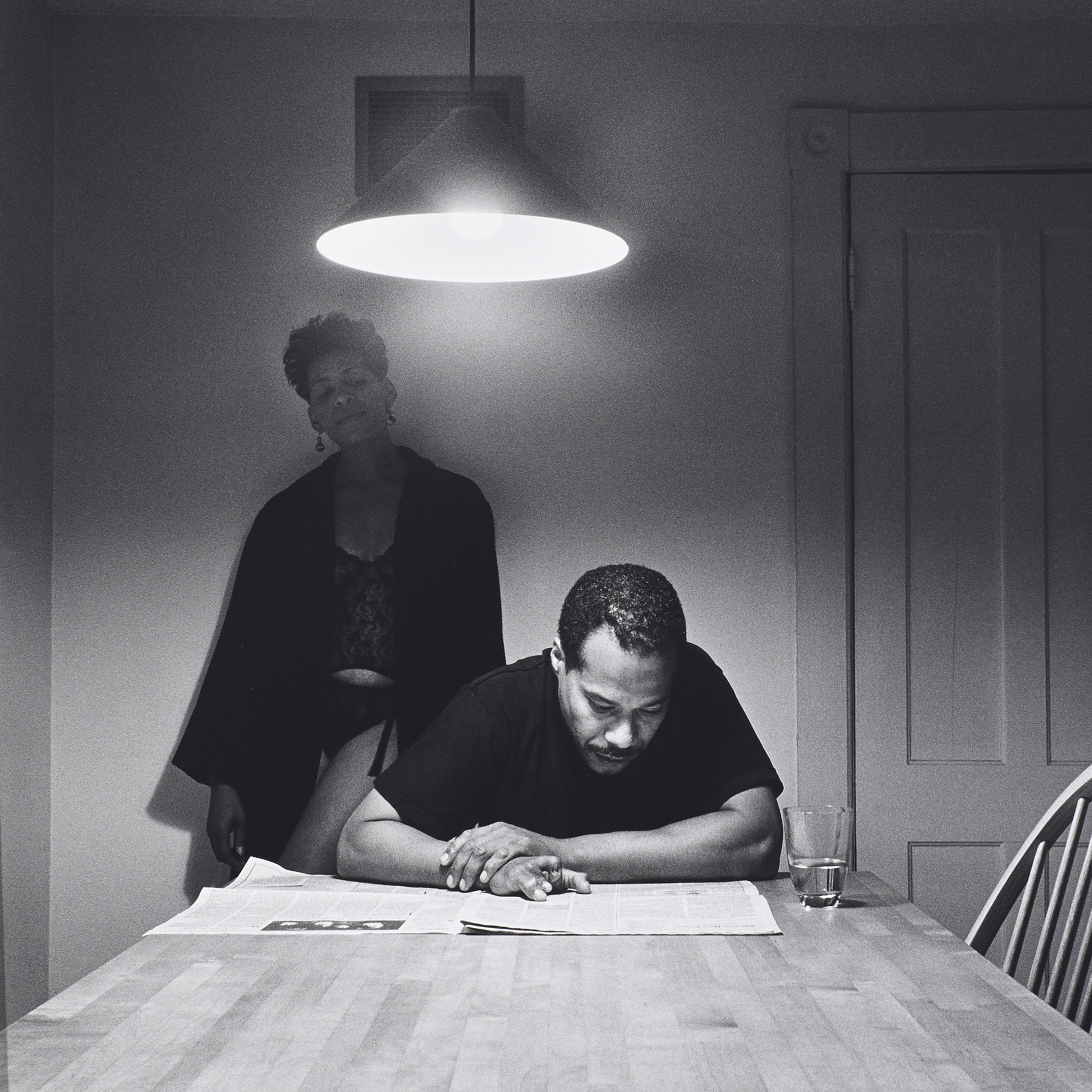 Kitchen Table Series: 218: CARRIE MAE WEEMS, Untitled (from The Kitchen Table