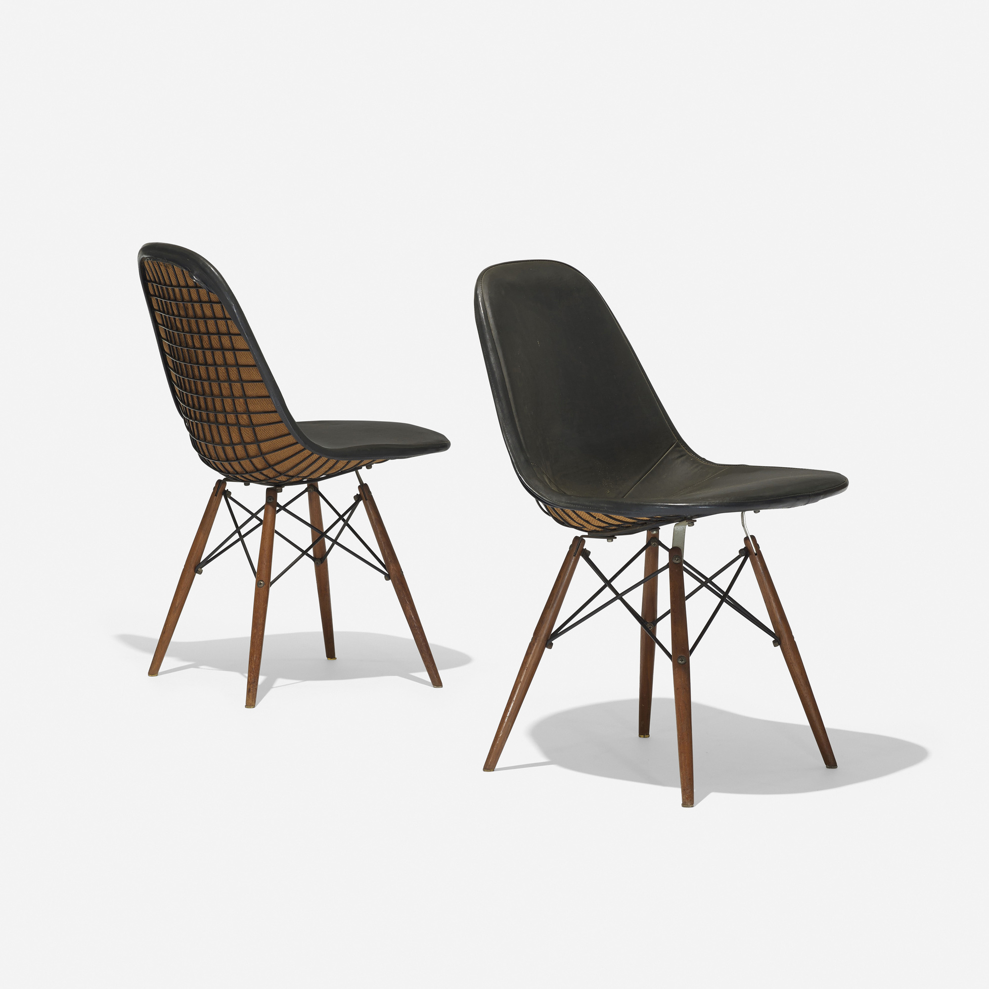 218 charles and ray eames dkw 1s pair. Black Bedroom Furniture Sets. Home Design Ideas