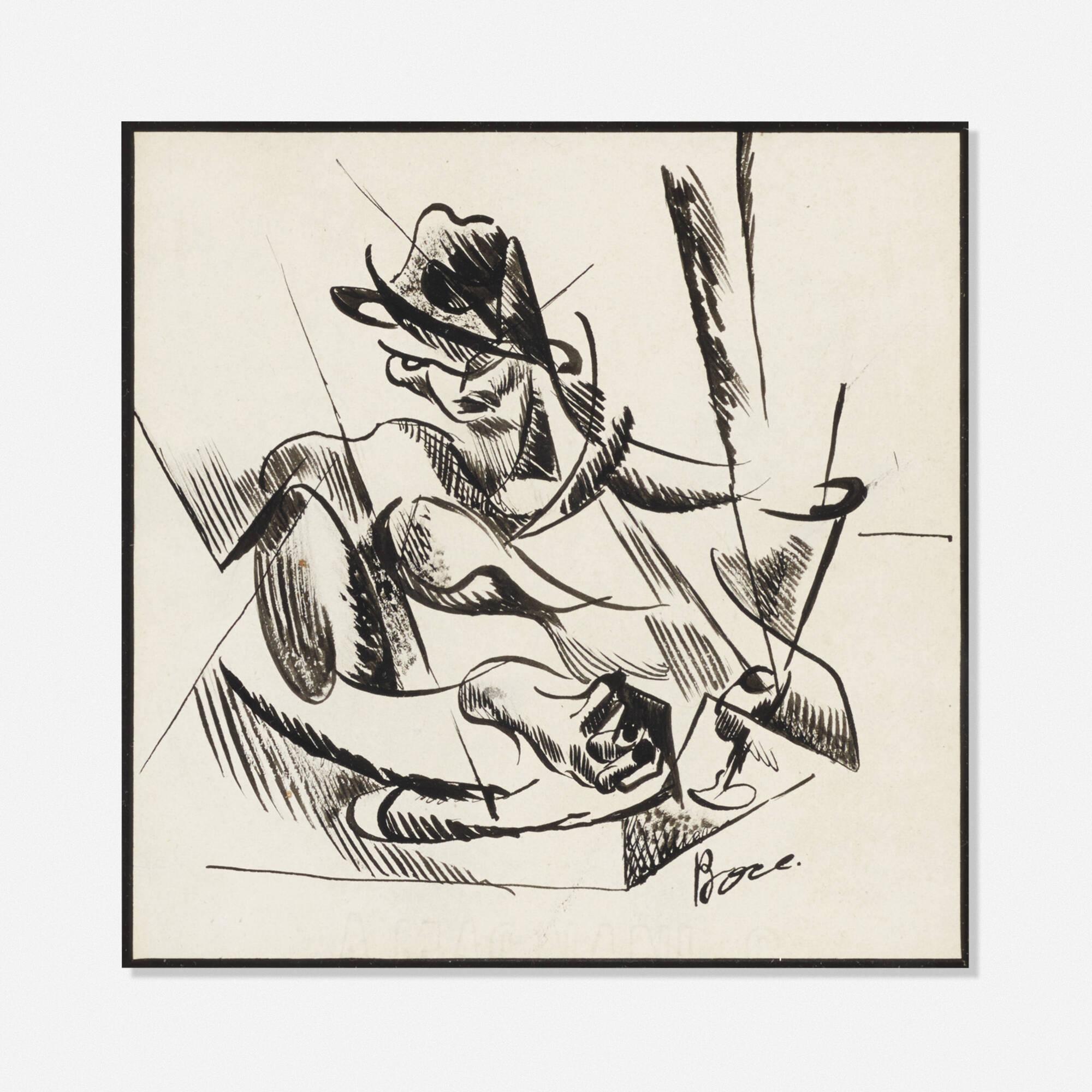 219: School of Umberto Boccioni / Untitled (1 of 1)