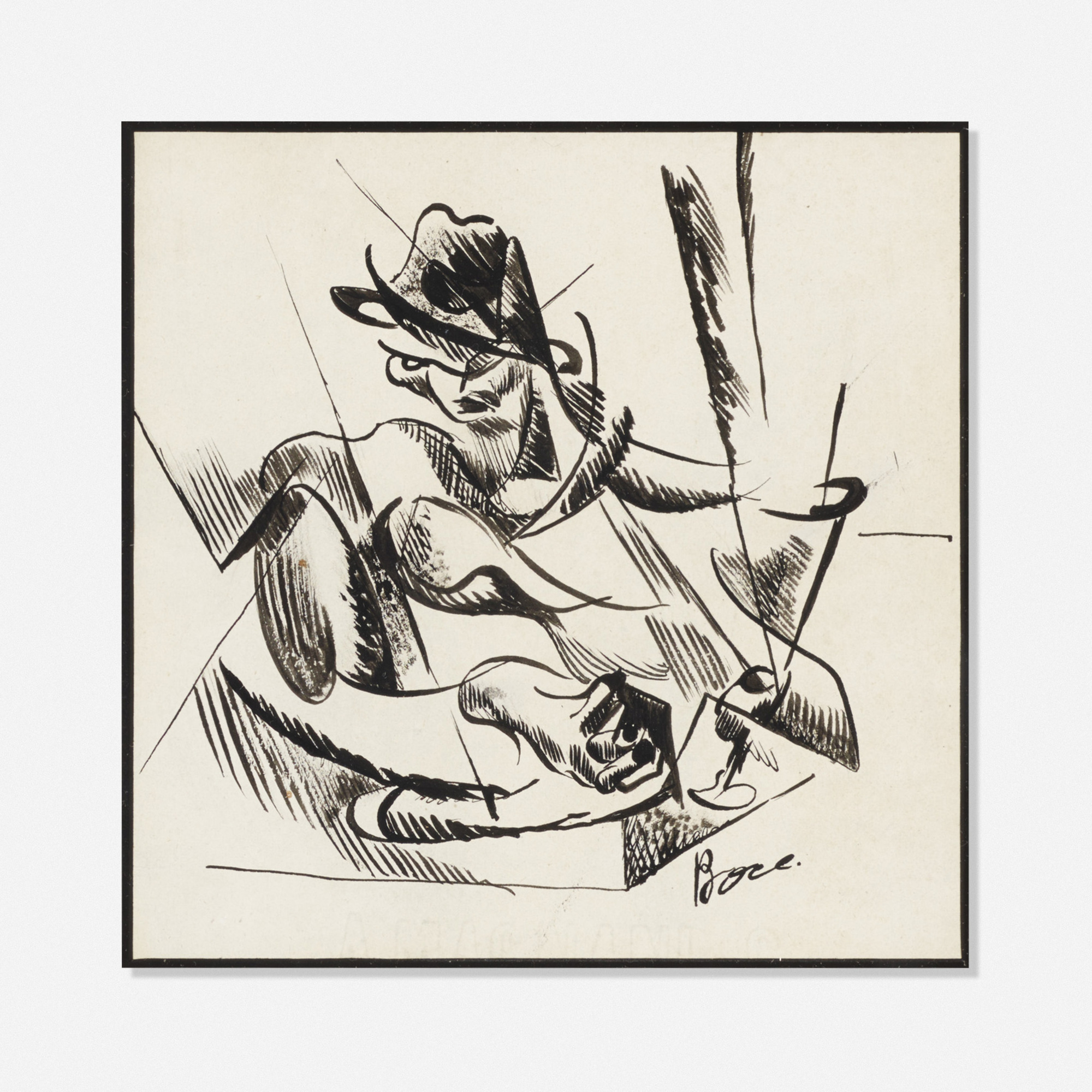 219: School of Umberto Boccioni / Untitled (1 of 1)