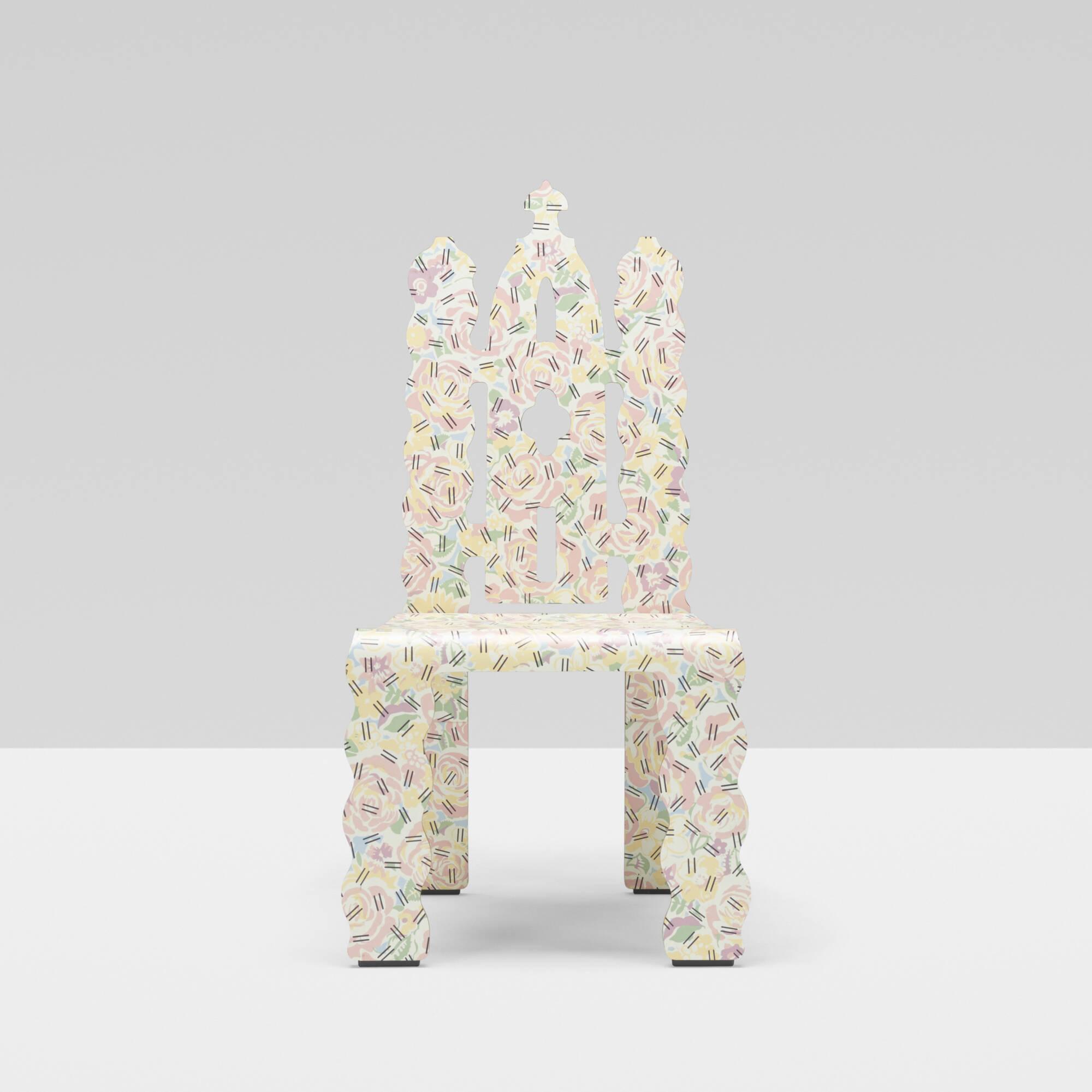 219 Robert Venturi with Denise Scott Brown / Gothic Revival chair (1 of 4 & 219: ROBERT VENTURI WITH DENISE SCOTT BROWN Gothic Revival chair ...