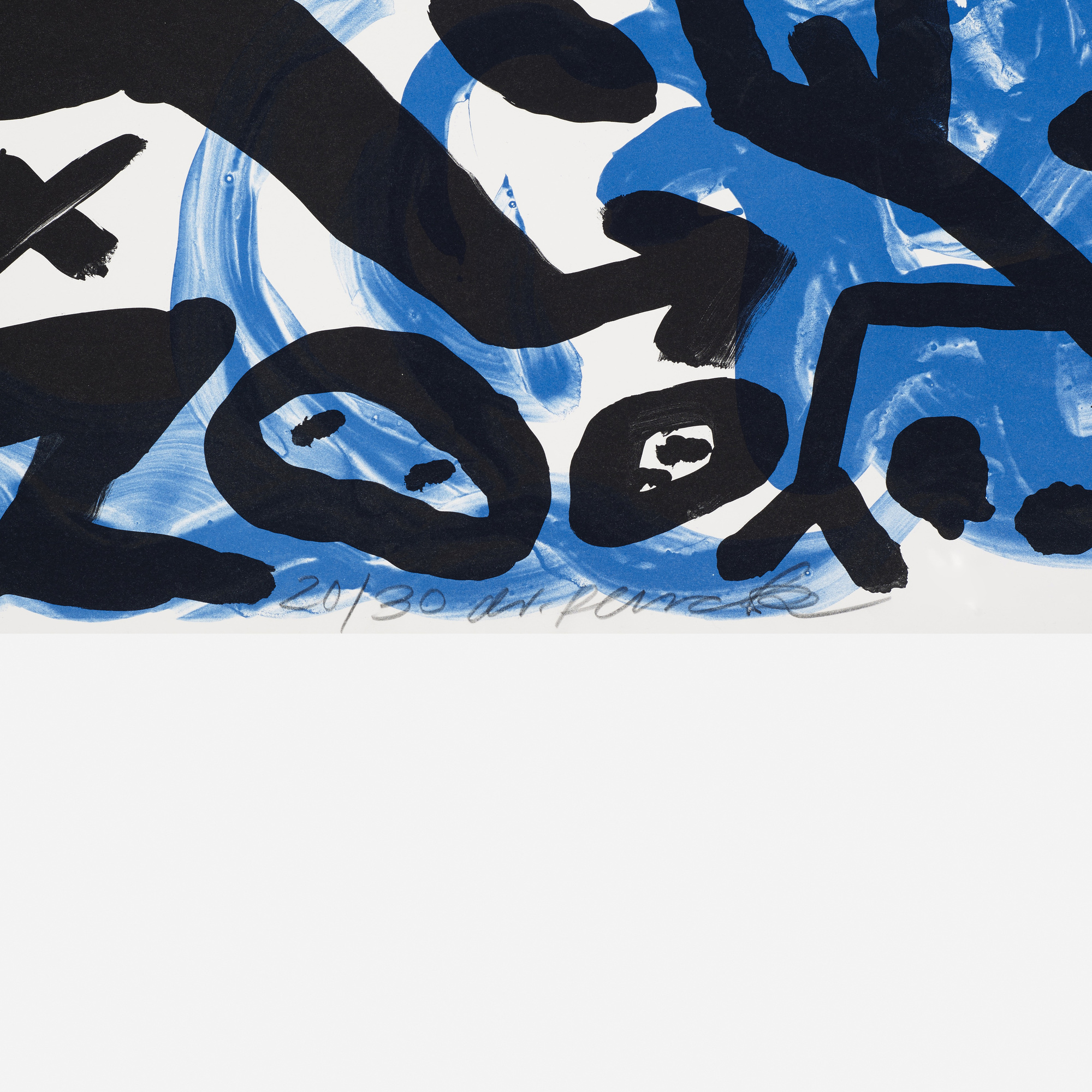 219: A. R. Penck / The Situation Now (Night) (3 of 3)