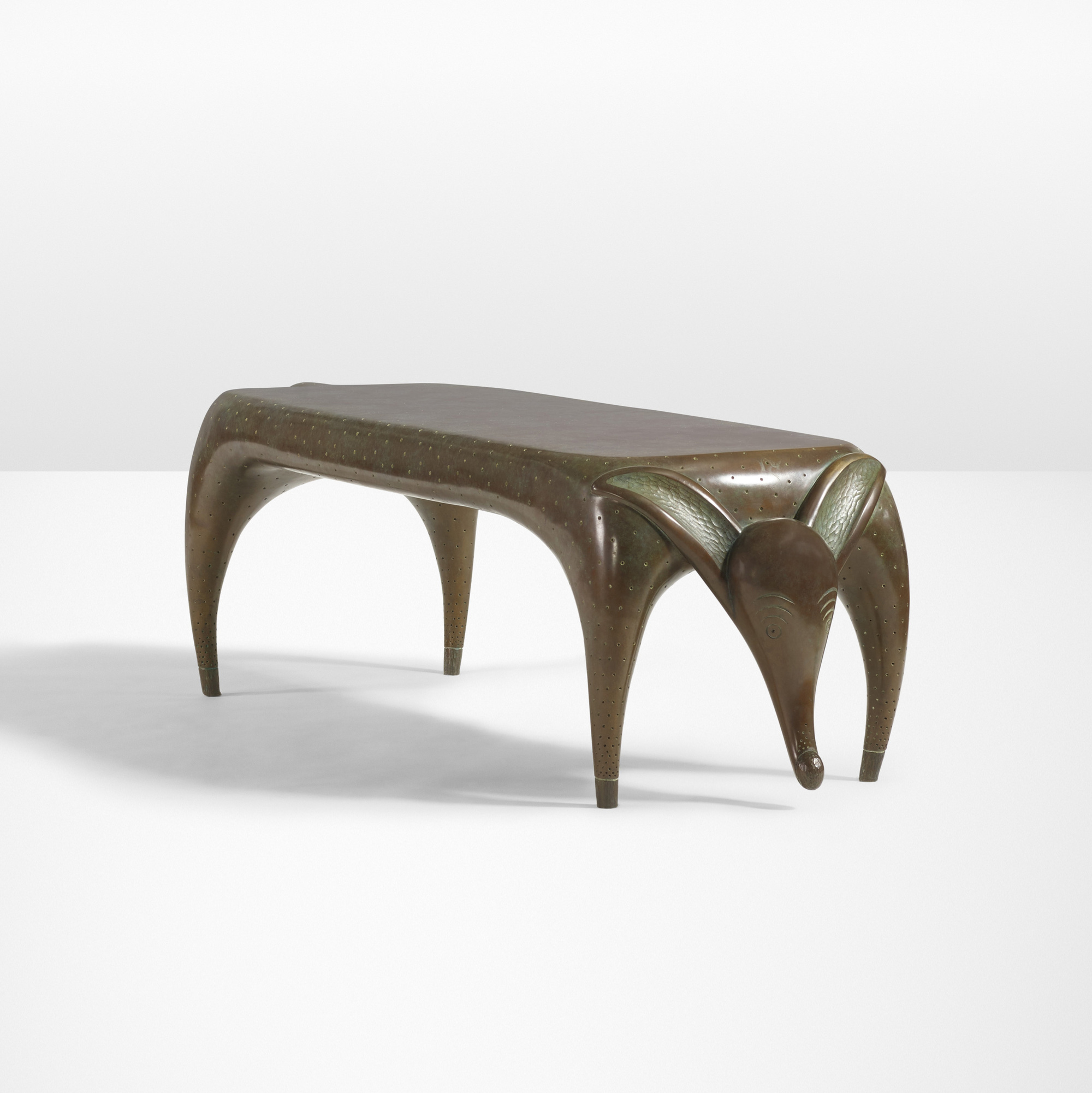 21: Judy Kensley McKie / Timid Dog bench (1 of 4)