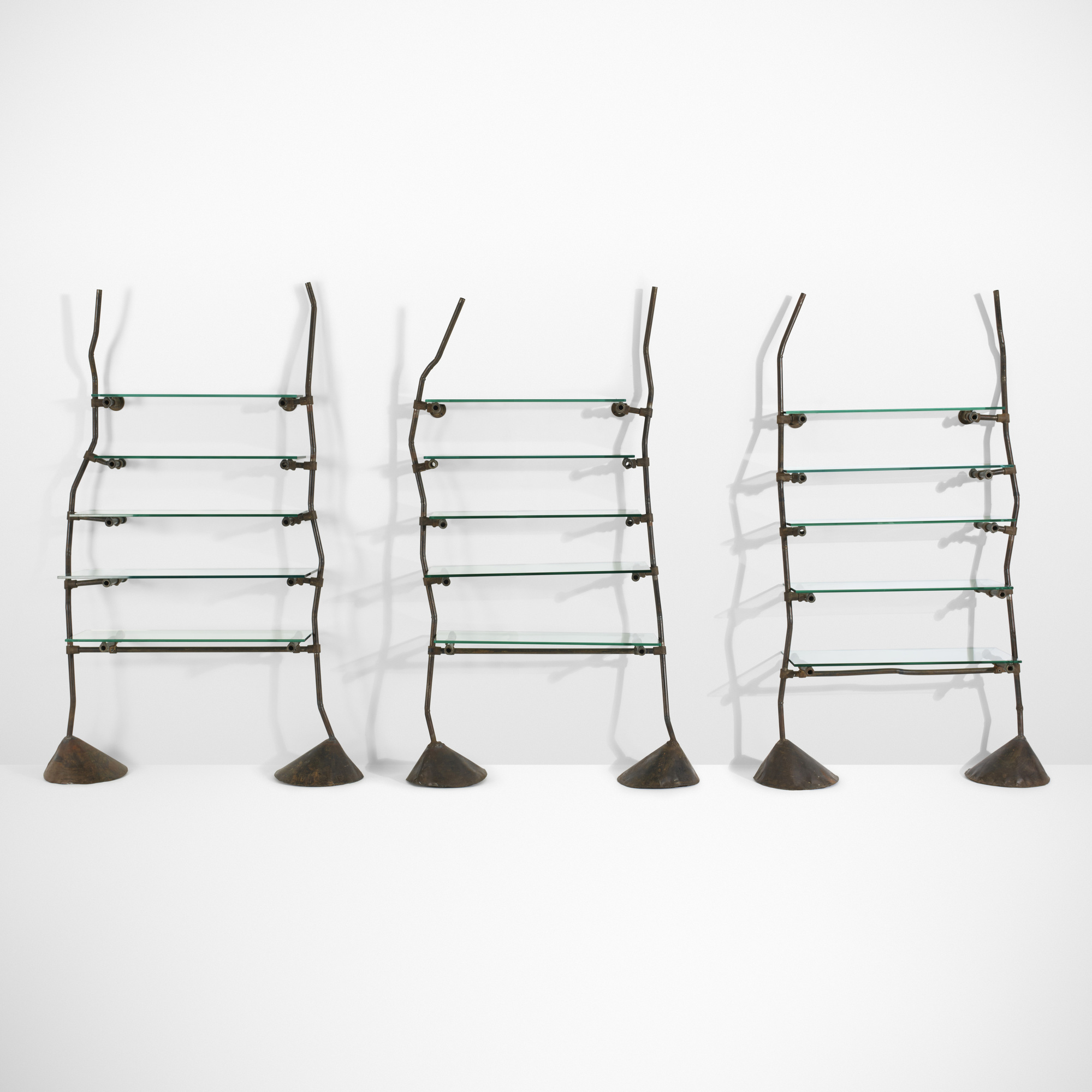 21: Ron Arad / Set of three Unique and Custom shelves from Bazaar, London (2 of 3)