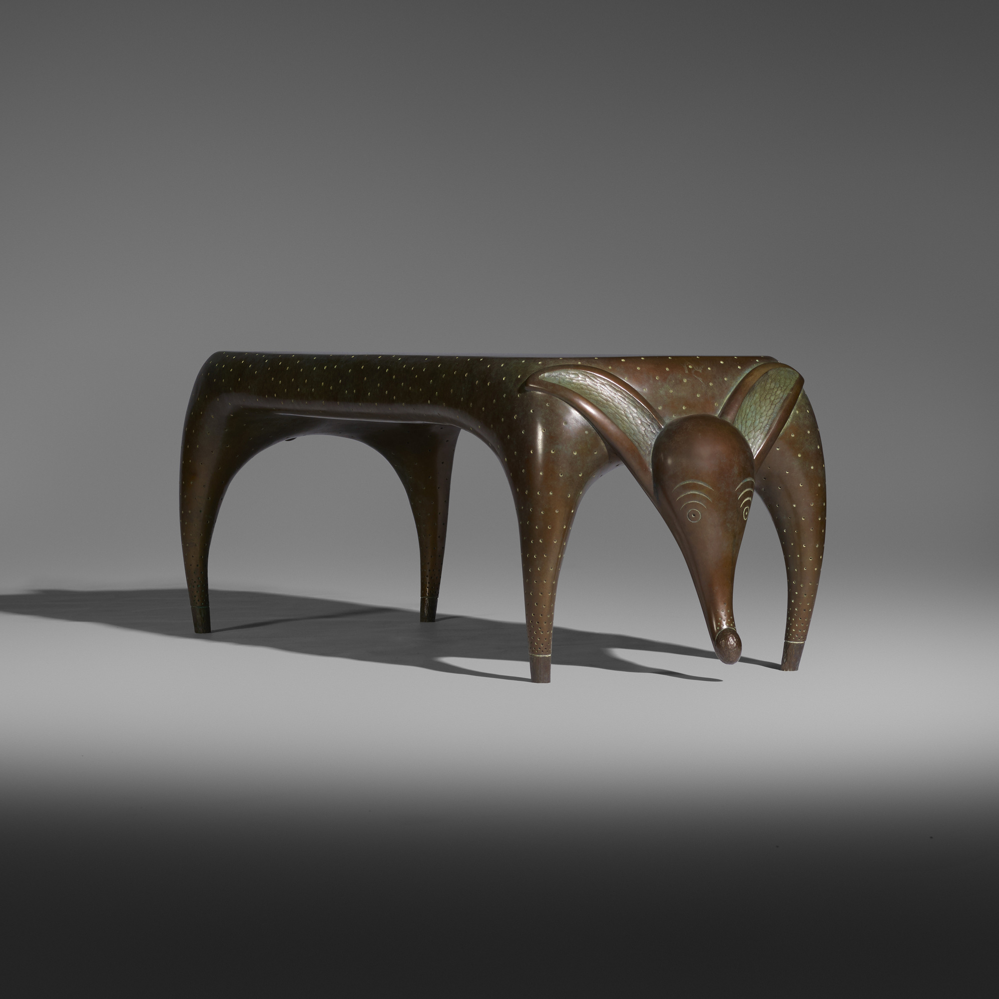 21: Judy Kensley McKie / Timid Dog bench (3 of 4)