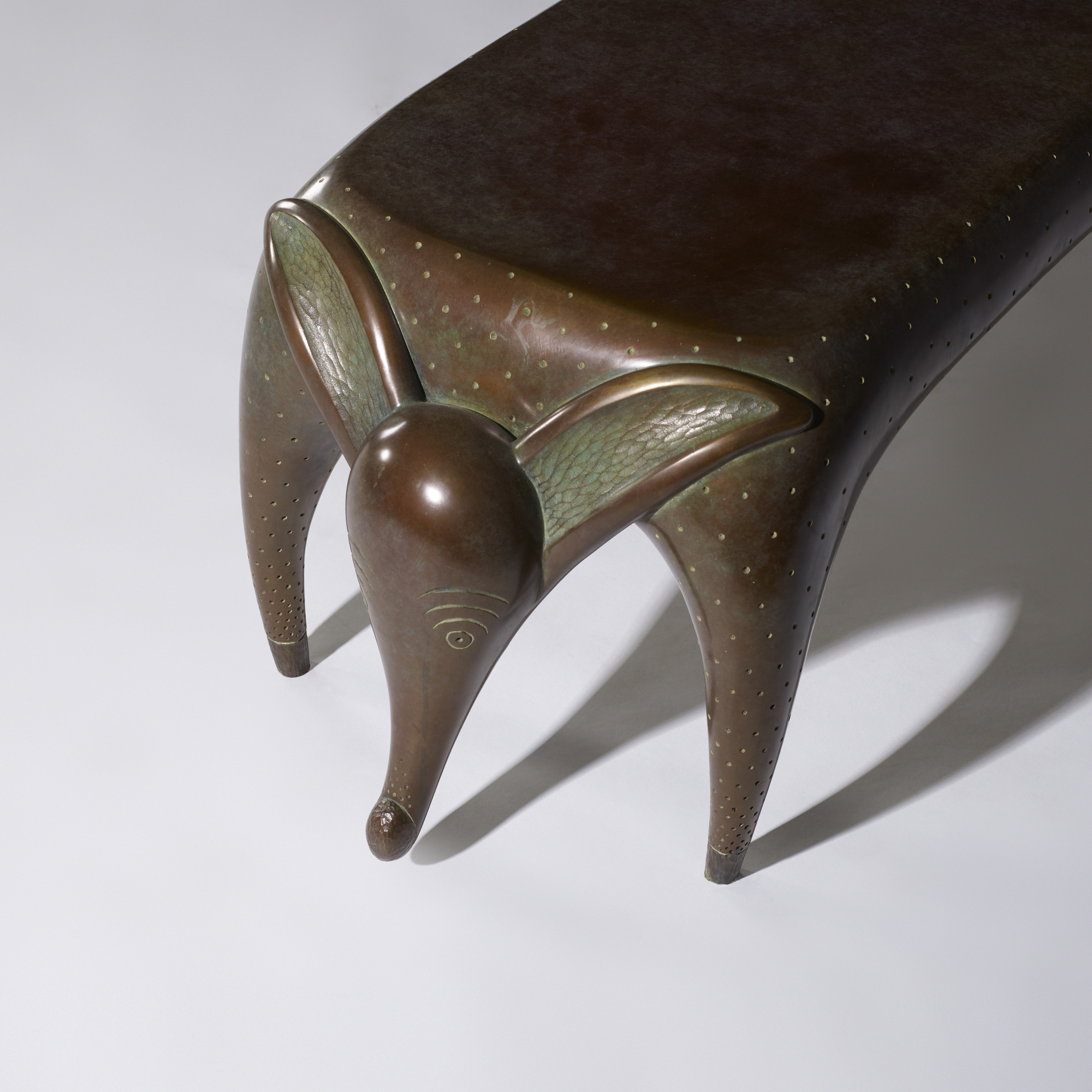 21: Judy Kensley McKie / Timid Dog bench (4 of 4)