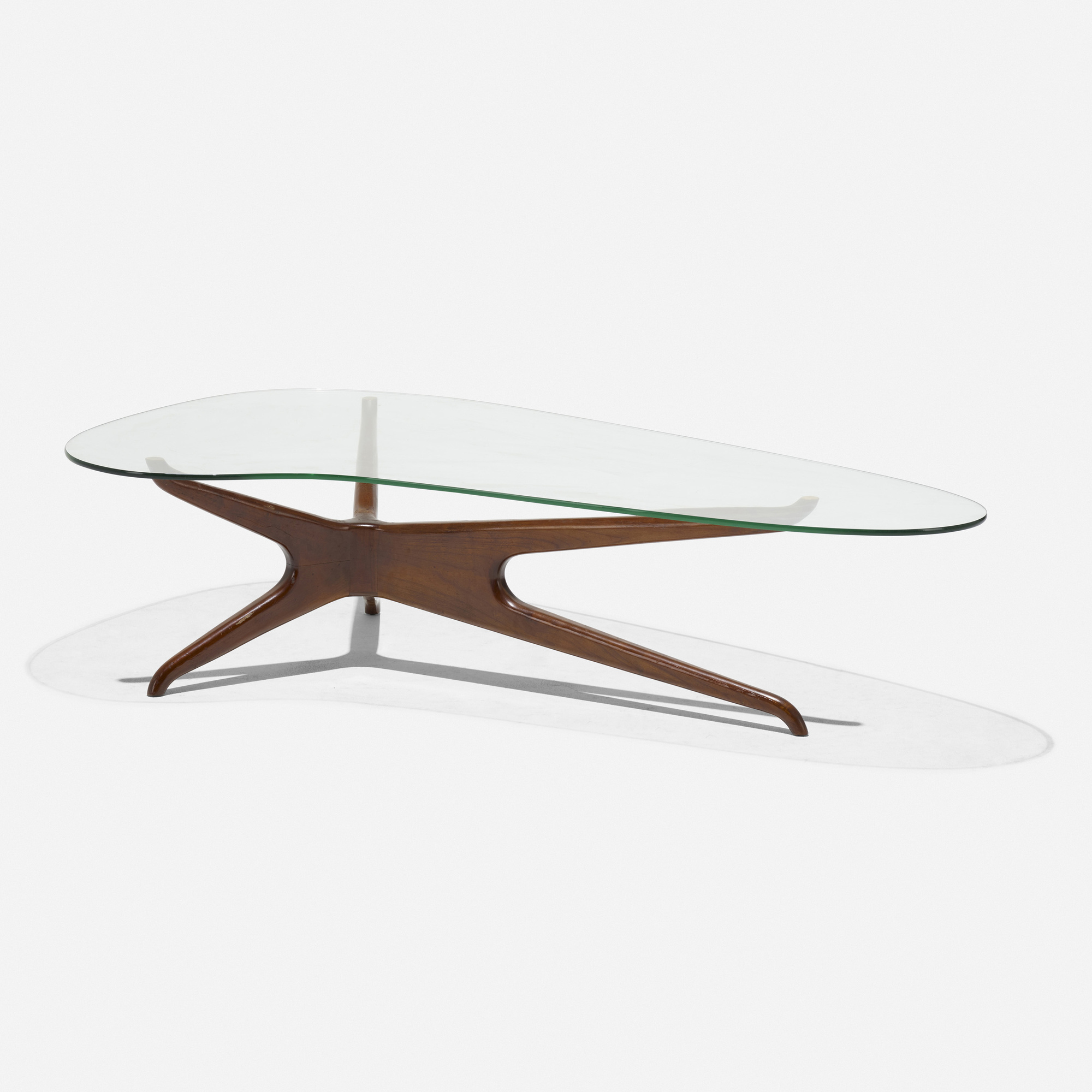 220 In The Manner Of Vladimir Kagan Coffee Table American Design 18 February 2021 Auctions Wright Auctions Of Art And Design