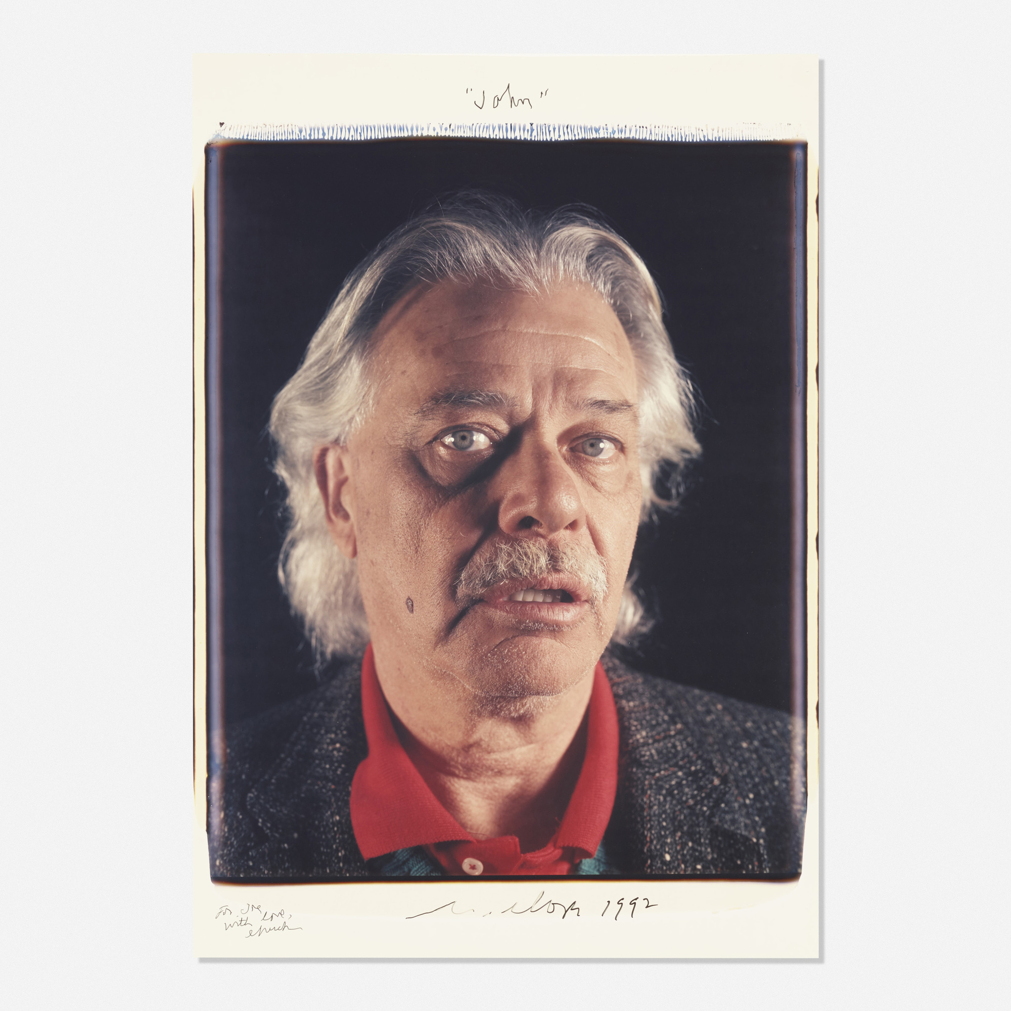 220: Chuck Close / John (John Chamberlain) (1 of 1)