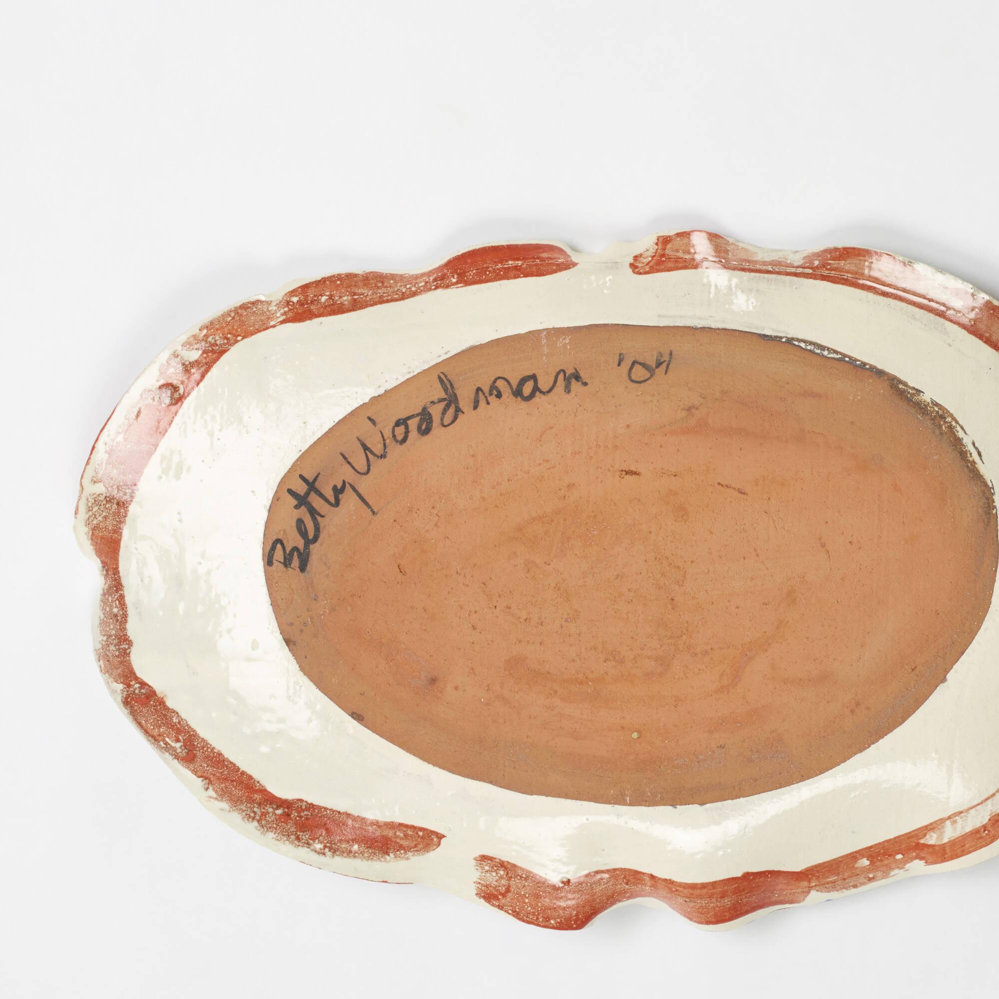 221: Betty Woodman / platter (2 of 2)