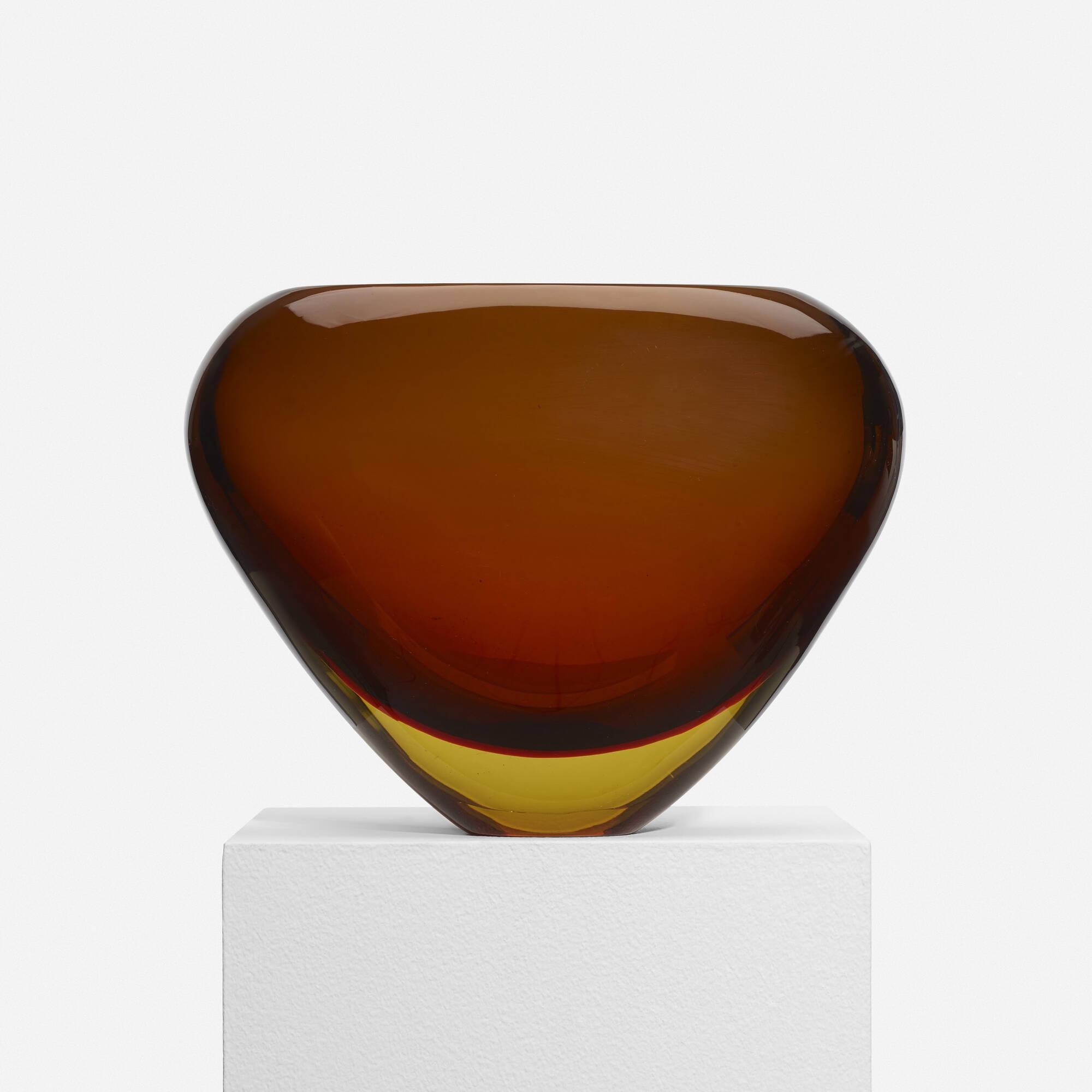 221: Flavio Poli / Sommerso vase, model 12890 (2 of 4)
