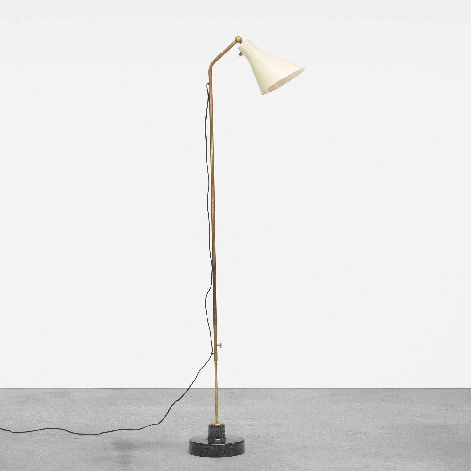 222: Ignazio Gardella / Lte 3 adjustable floor lamp (1 of 2)