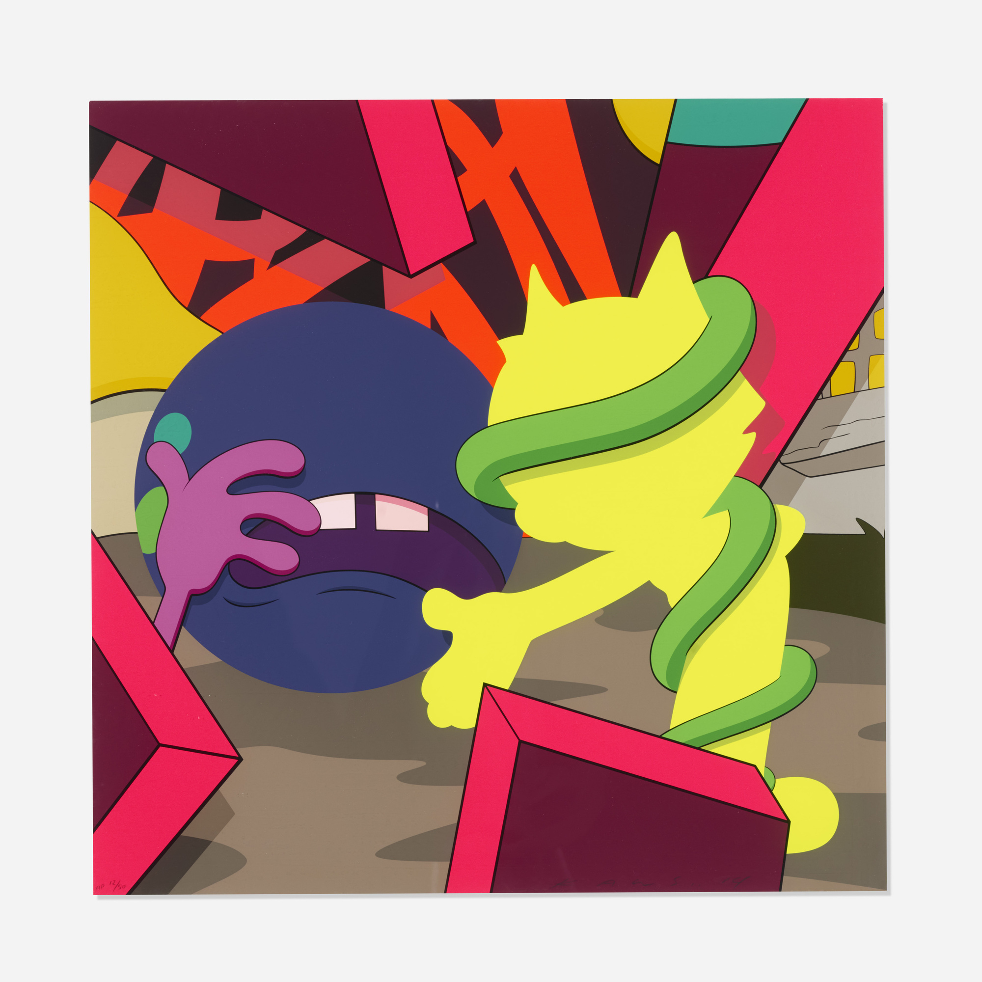 222: KAWS (Brian Donnelly) / Presenting the Past (1 of 2)
