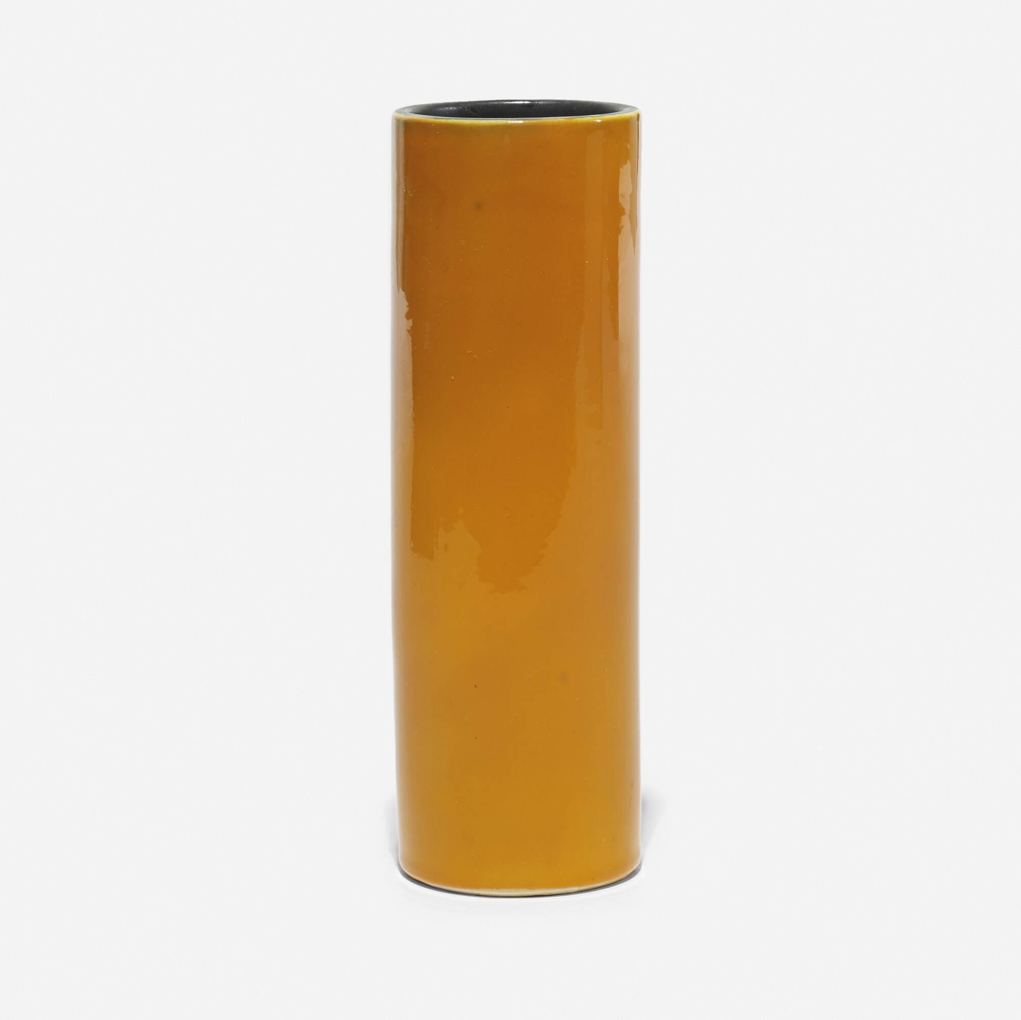 224: Georges Jouve / Cylinder vase (1 of 2)
