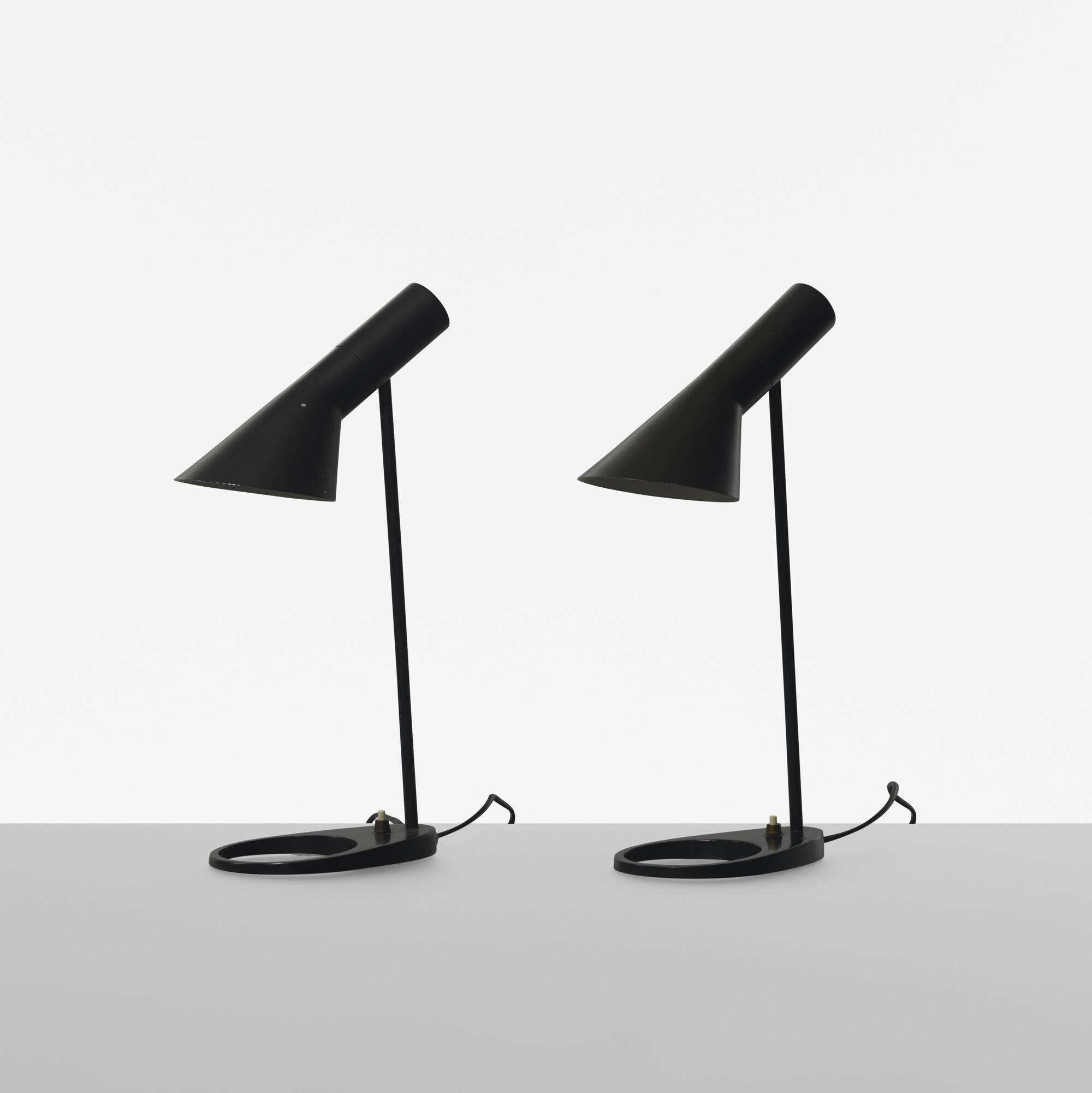 224: Arne Jacobsen / Visor lamps, pair (1 of 1)