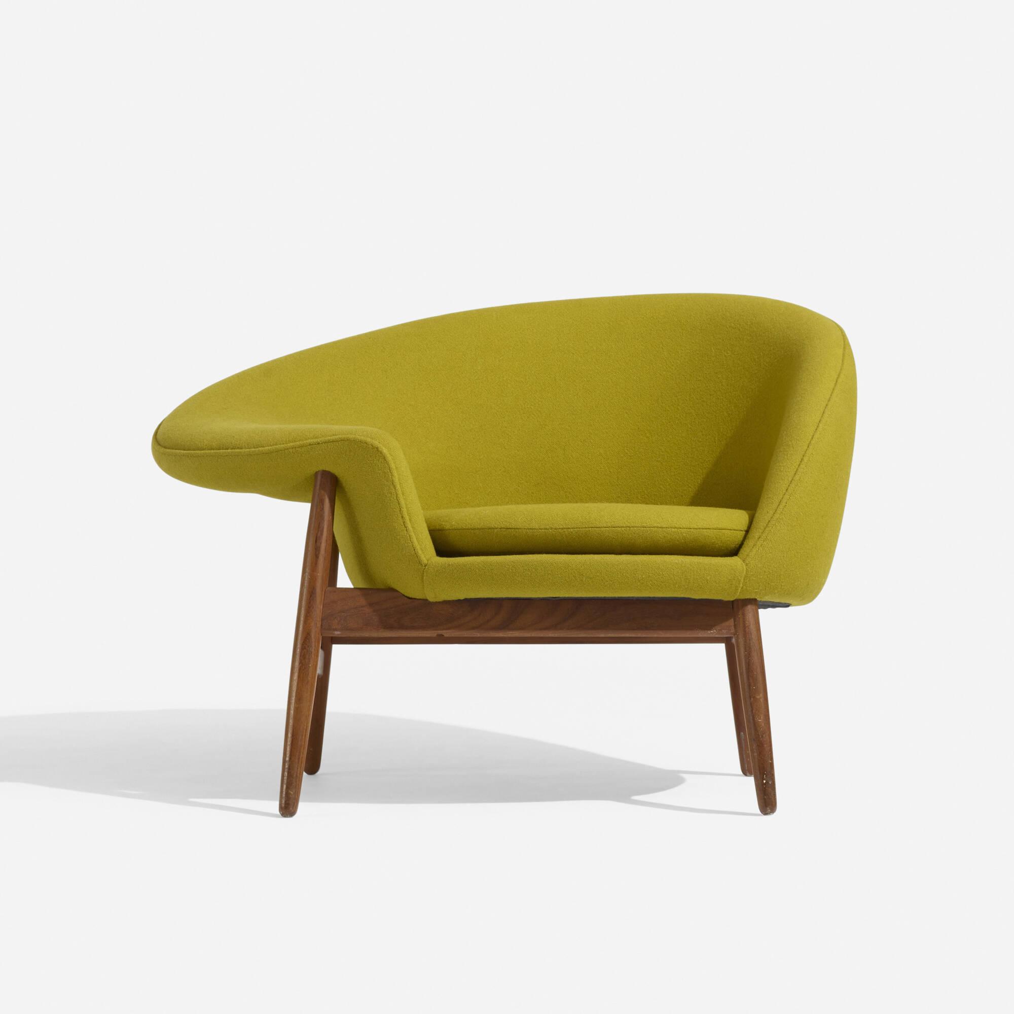 224: Hans Olsen / Lounge Chair, Model 188 (2 Of 4) ...