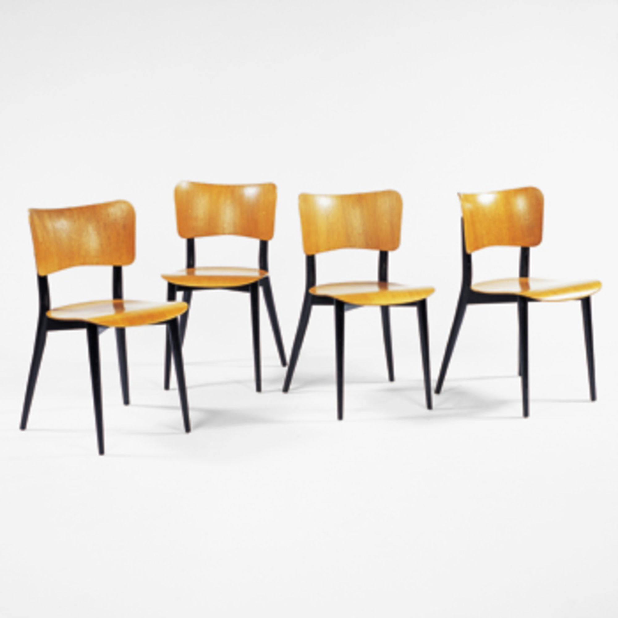 225 Max Bill Dining Chairs Set Of Four 20th Century Art