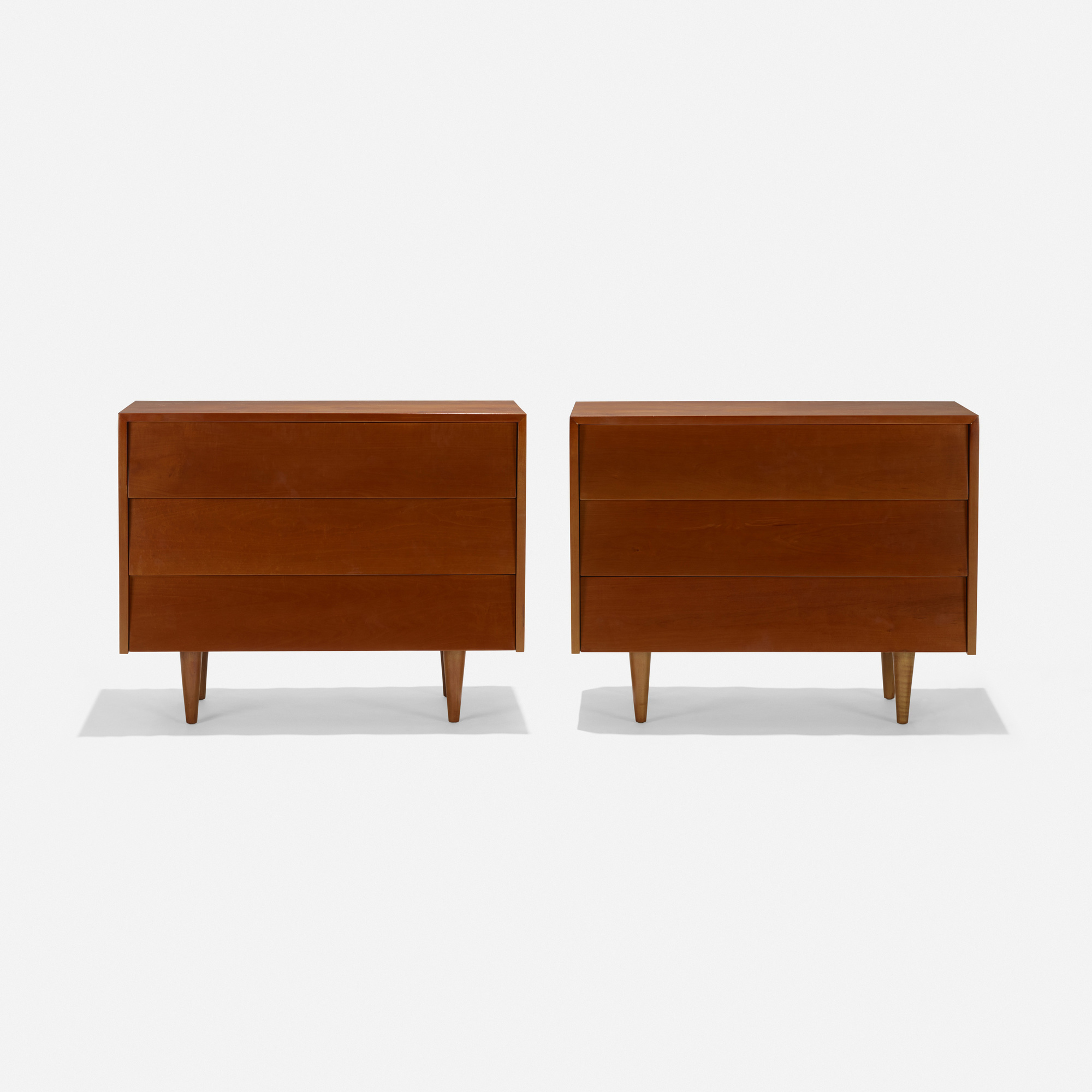 225: Florence Knoll / cabinets, pair (1 of 3)