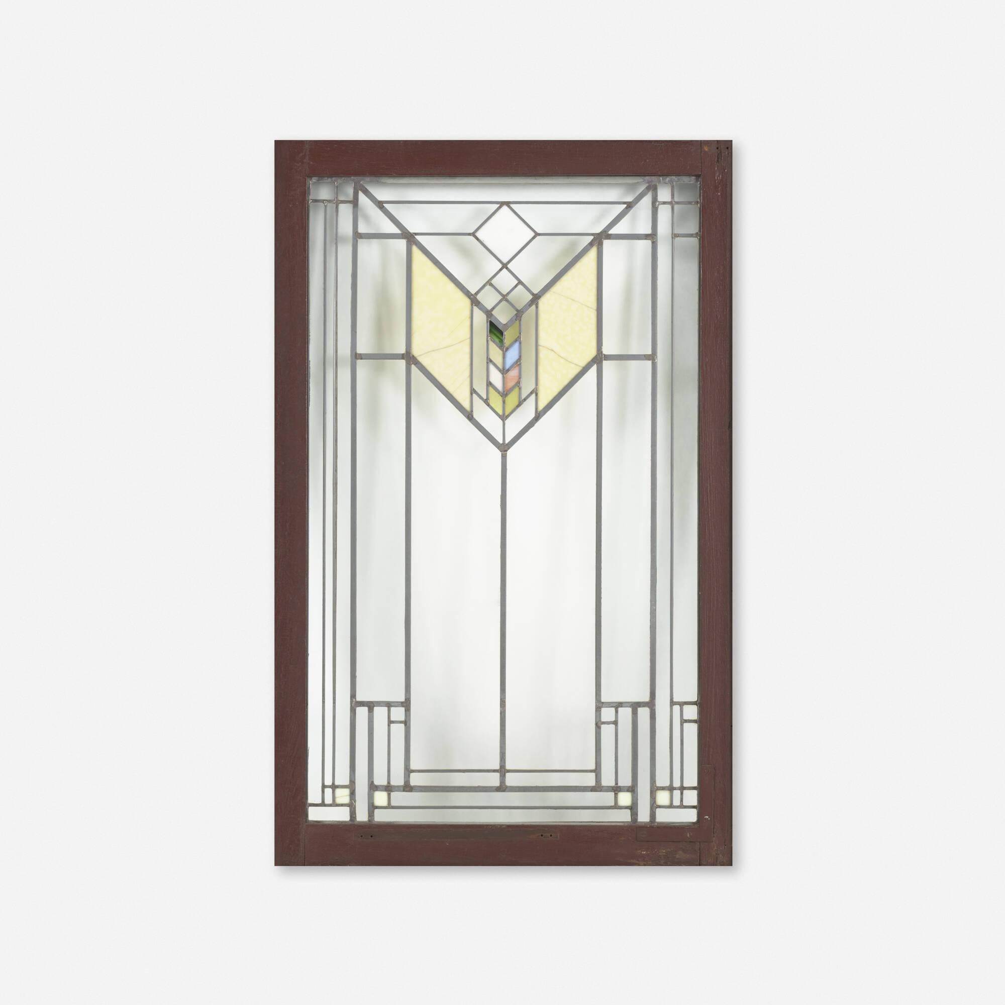 225 frank lloyd wright window from the lake geneva hotel for Design hotel f 6 genf