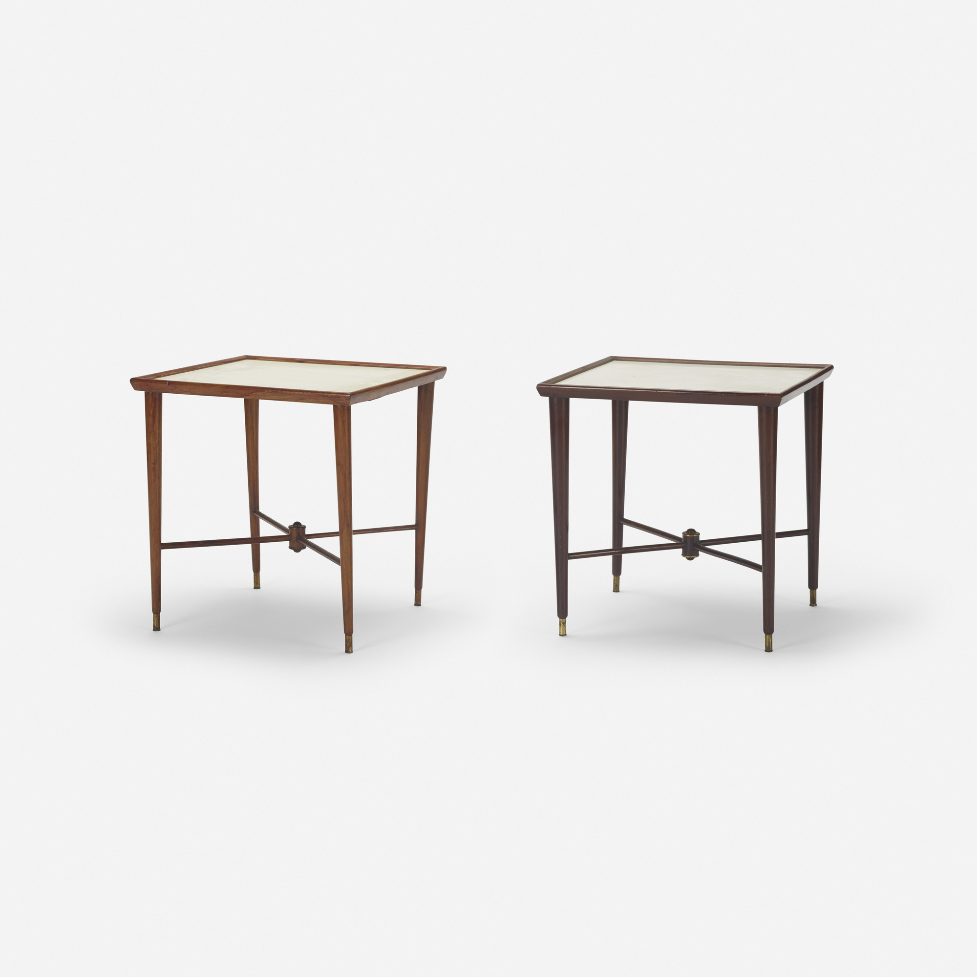226: Brazilian / occasional tables, pair (1 of 2)