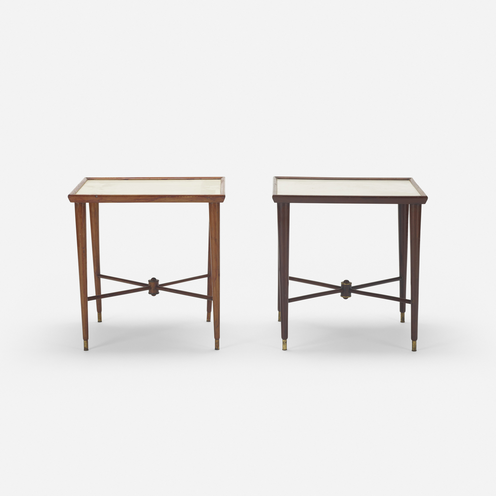 226: Brazilian / occasional tables, pair (2 of 2)