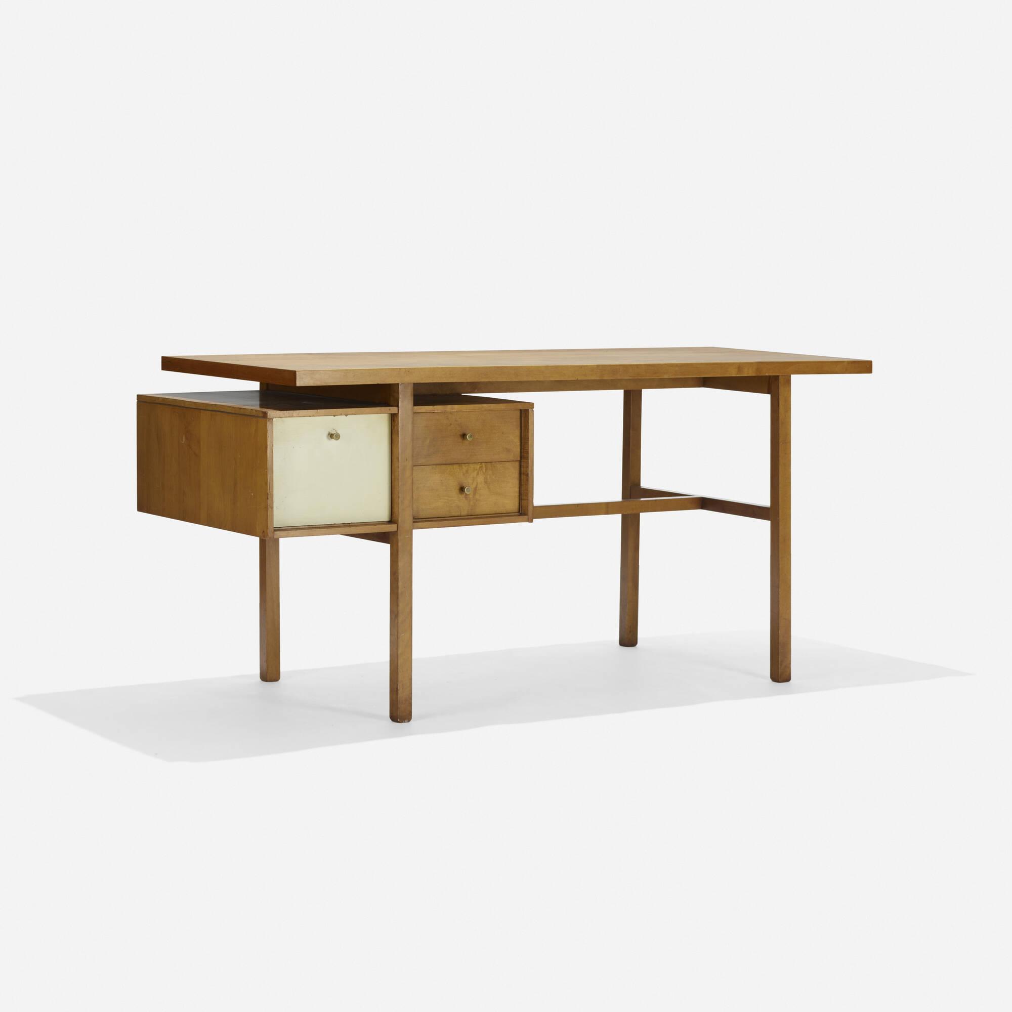 228: Milo Baughman / desk (1 of 3)