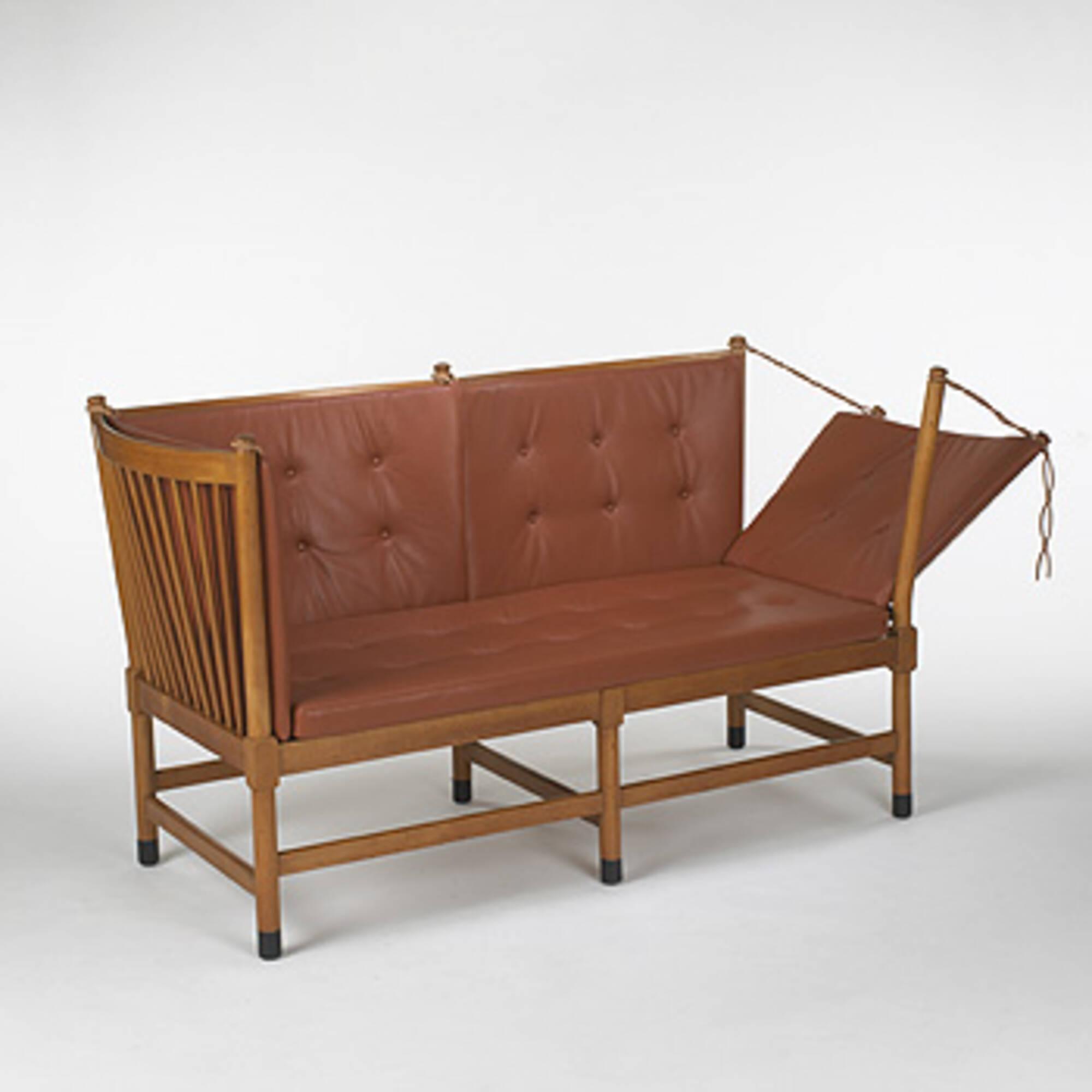 wegner sofa 229: HANS J. WEGNER, sofa, model #1789 < Important 20th Century  wegner sofa