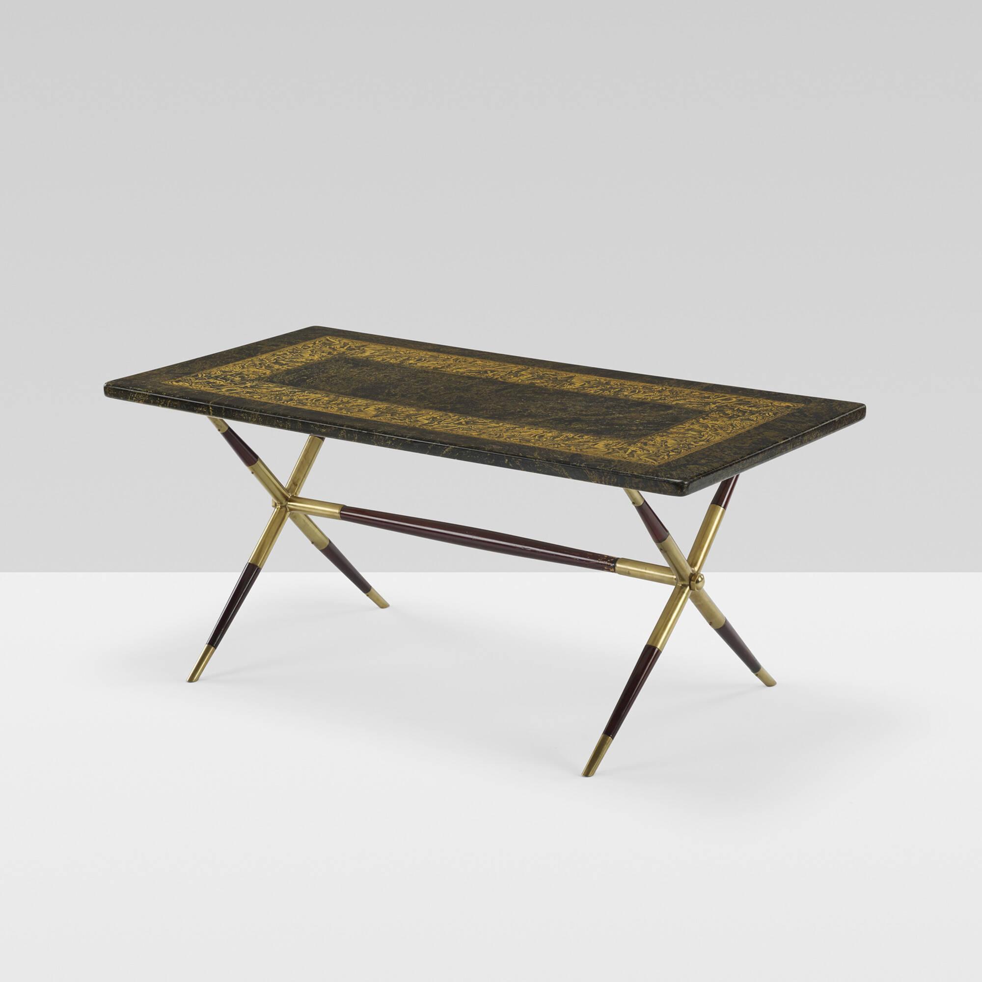 230: Piero Fornasetti / Bordo Bassorilievo Coffee Table (1 Of 4)