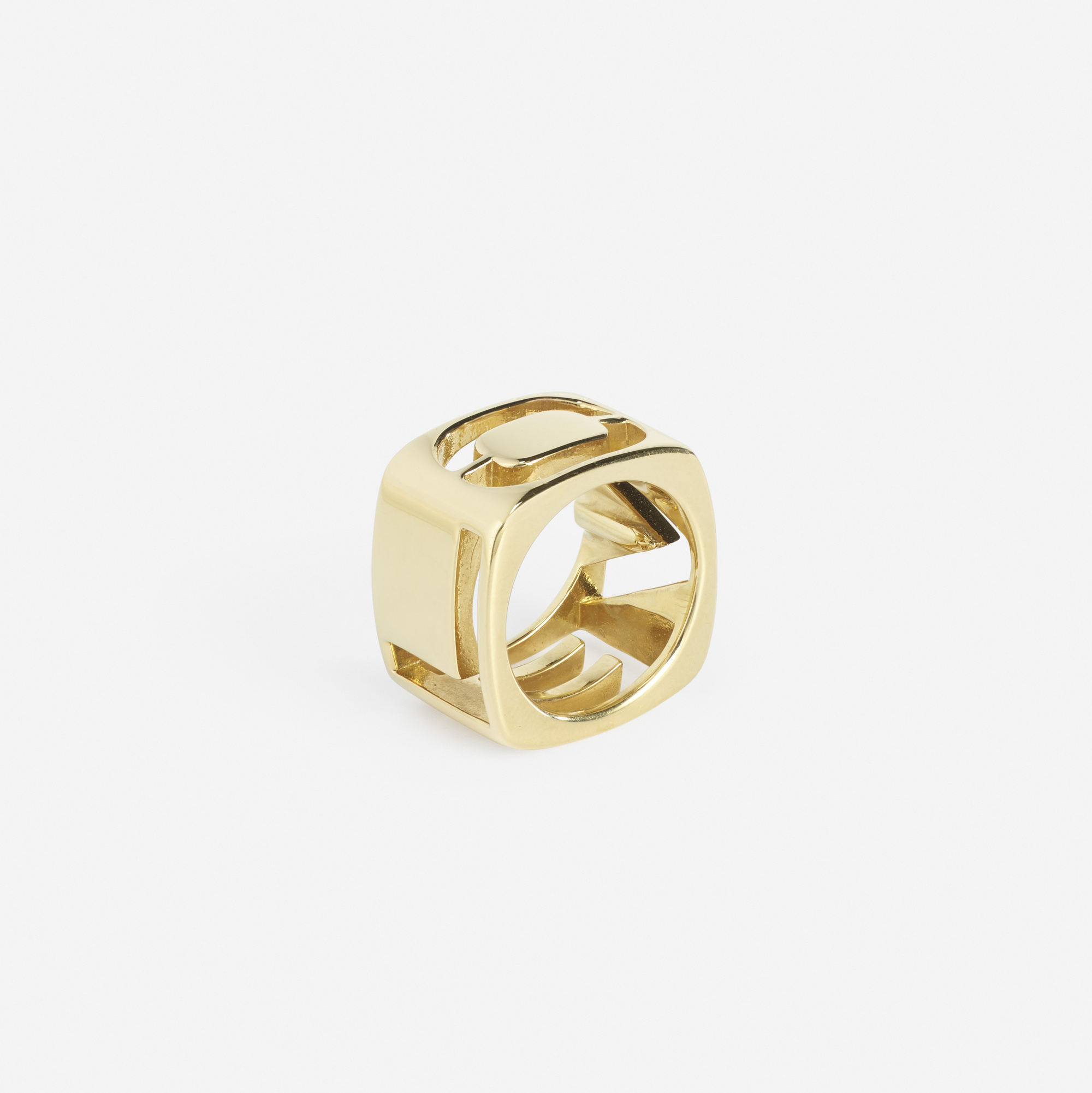 230: Tiffany & Co. / A gold Love ring (1 of 2)