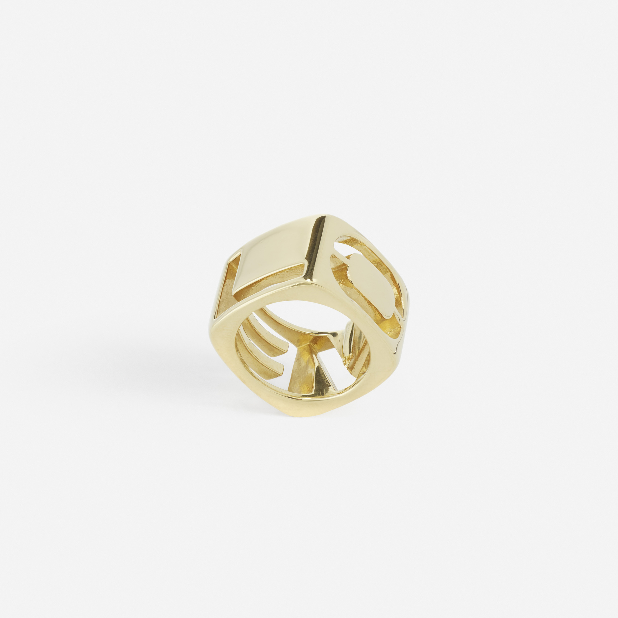 230: Tiffany & Co. / A gold Love ring (2 of 2)